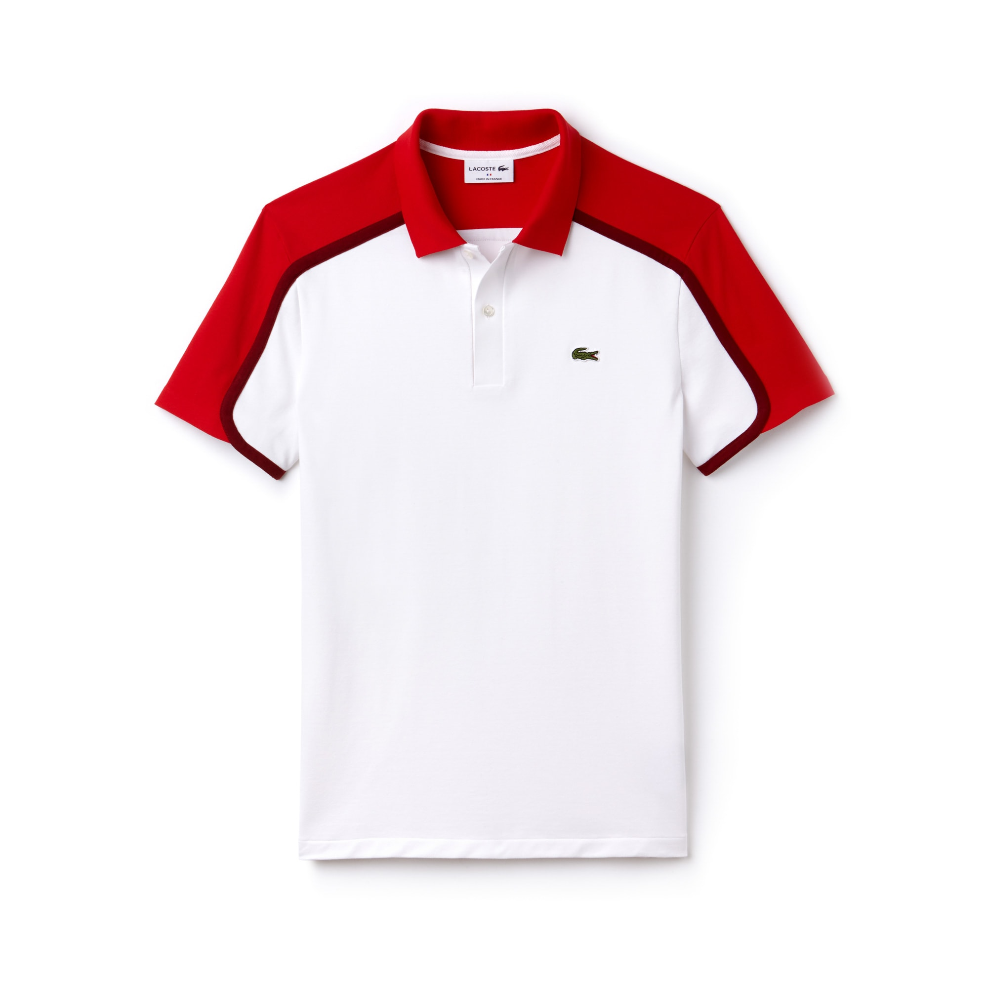 Men's Made in France Slim Fit Piqué Polo