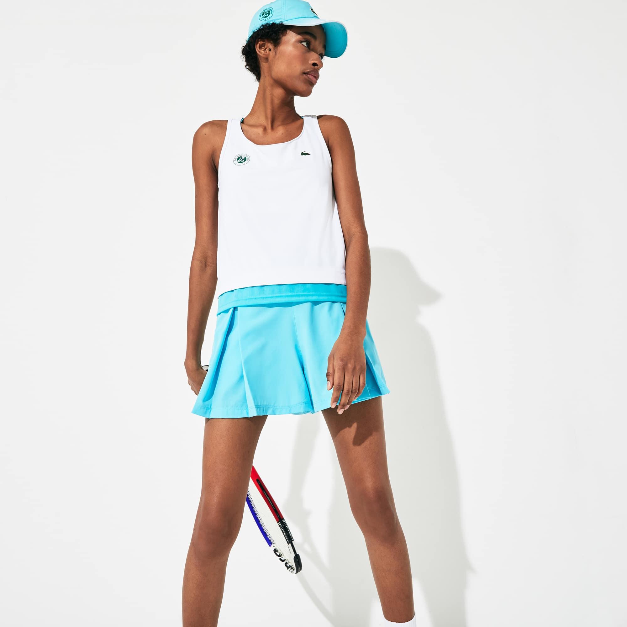 라코스테 스포츠 '롤랑가로스 에디션' 퍼포먼스 탱크탑 Lacoste Womens SPORT Roland Garros Performance Tank Top