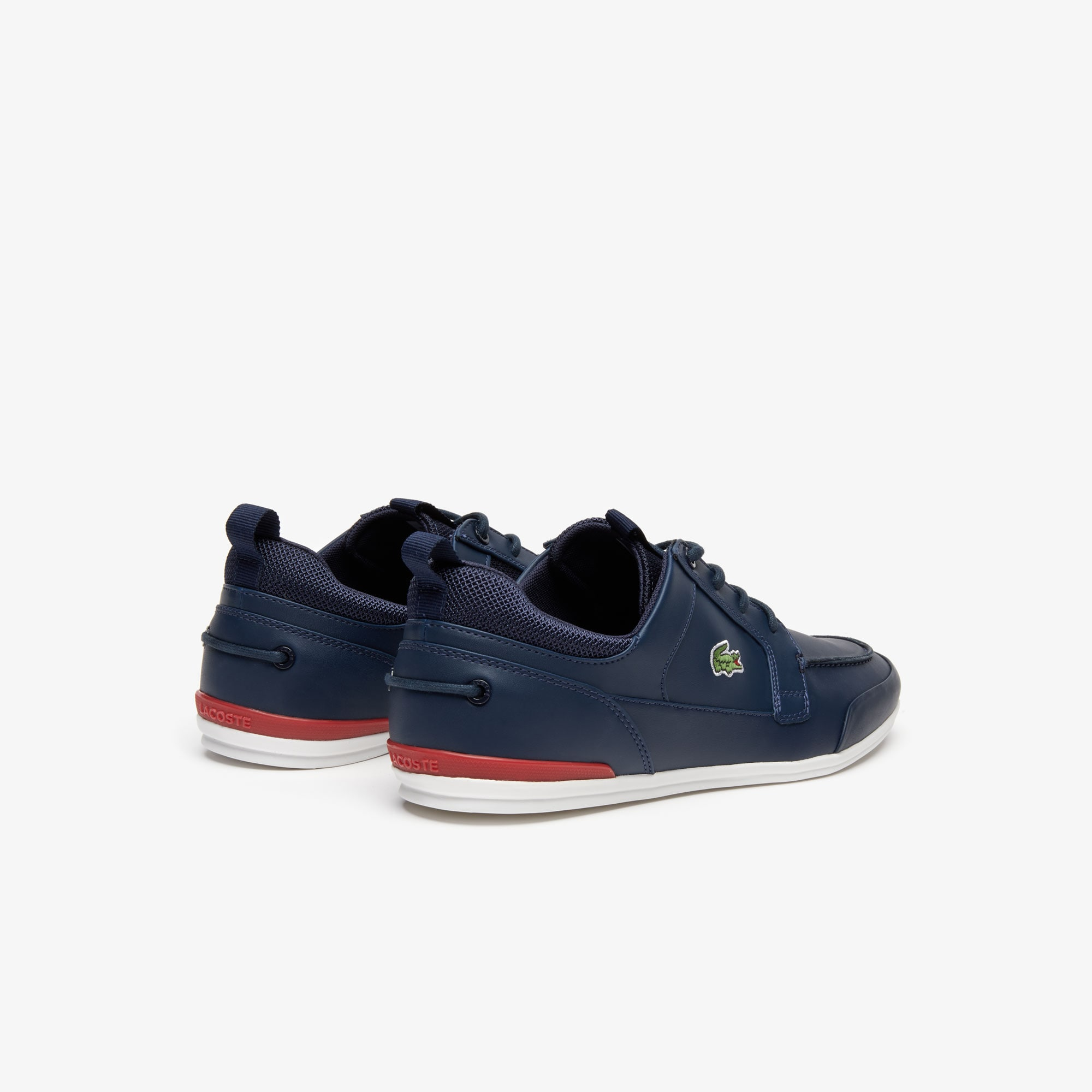 Men's Marina Leather and Textile Sneakers