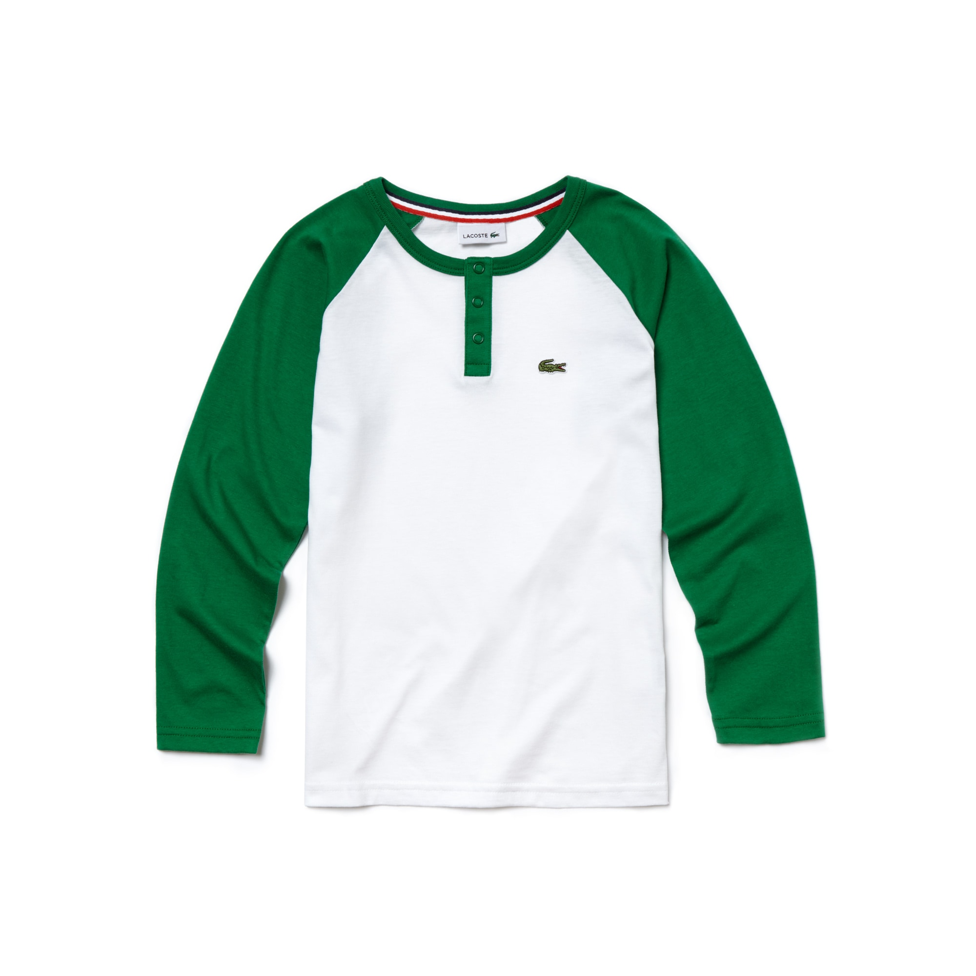 Boy's Baseball Cotton Colorblock T-Shirt