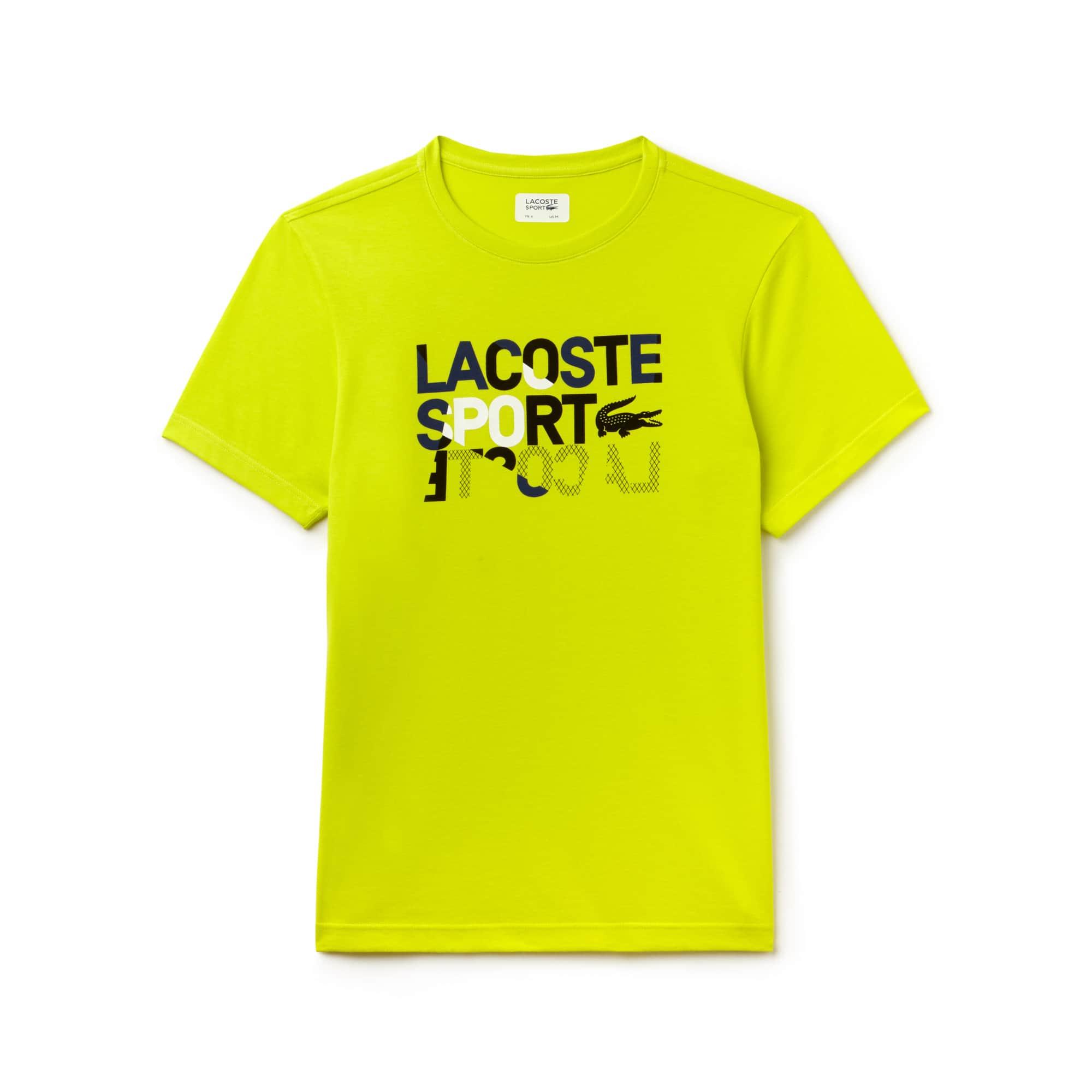 Men's SPORT Crew Neck Technical Jersey Tennis T-Shirt