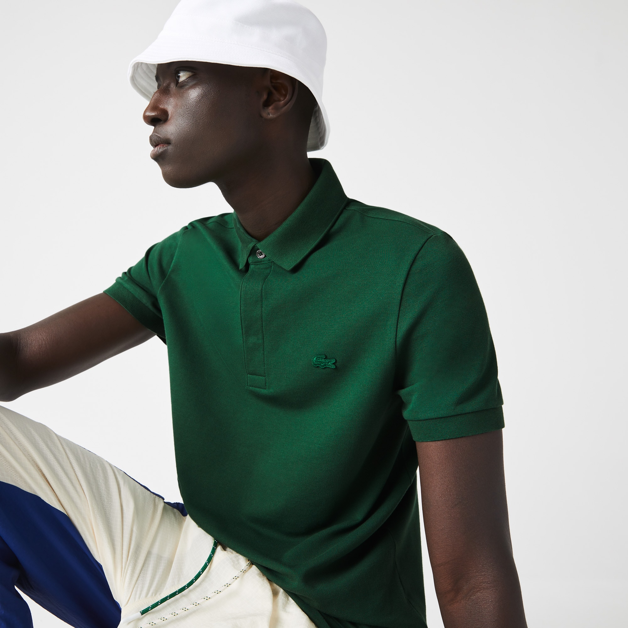 Men's Paris Edition Regular Fit Stretch Cotton Piqué Polo
