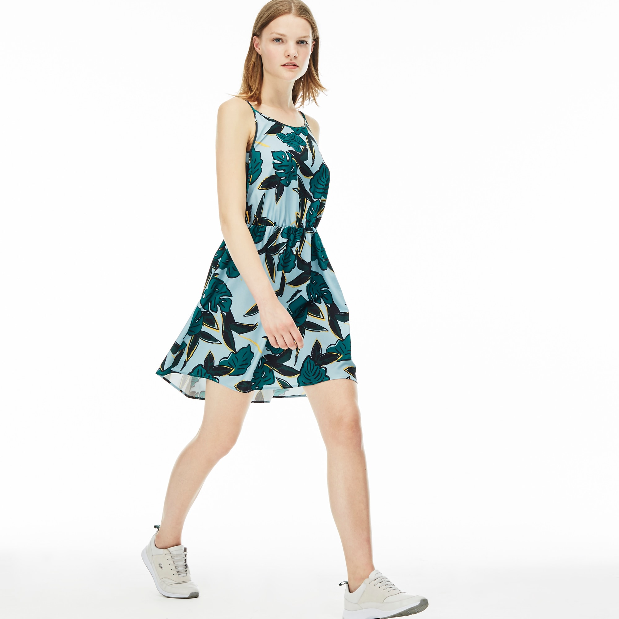 Women's L!VE Tropical Print Dress