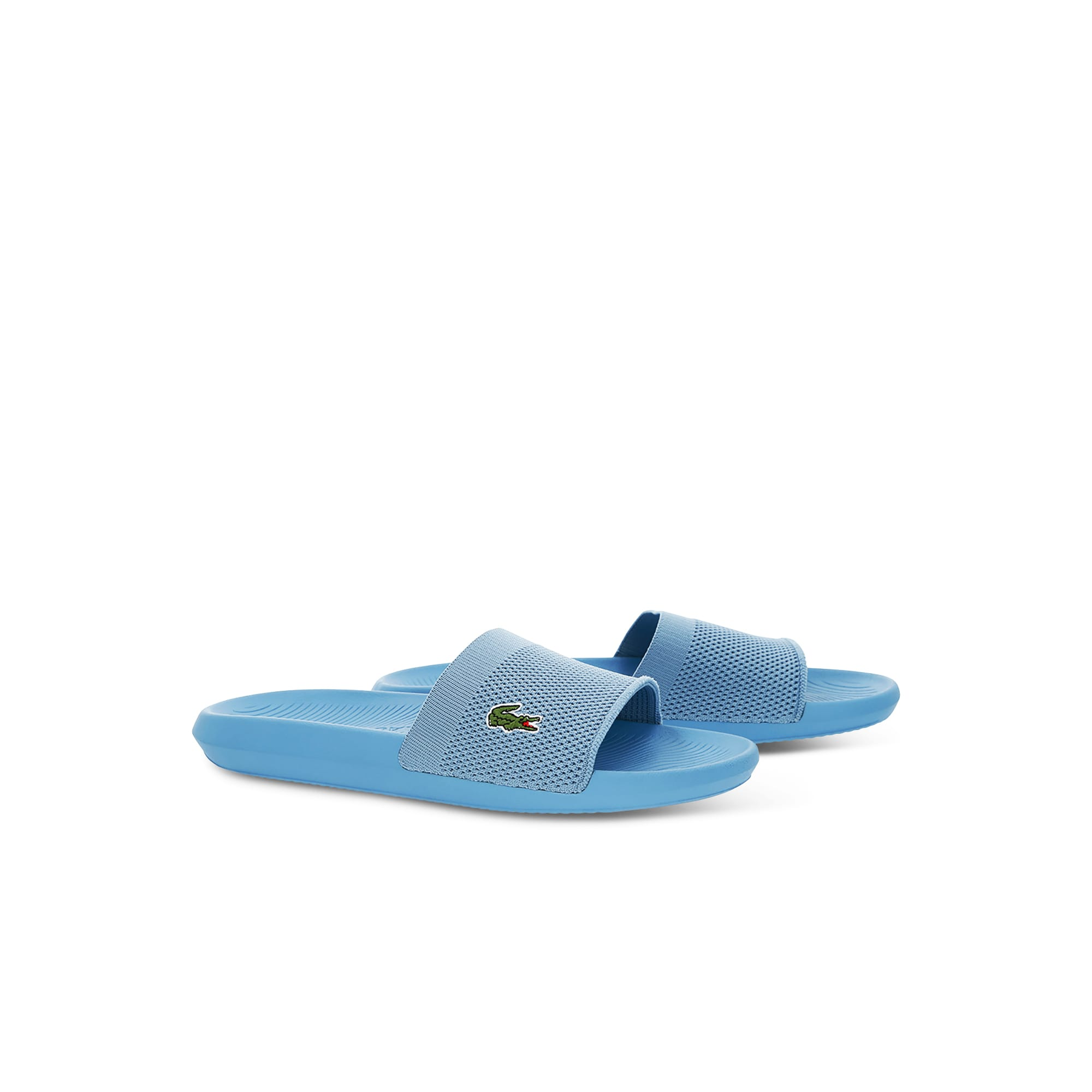 Men's Plain Textile Slides
