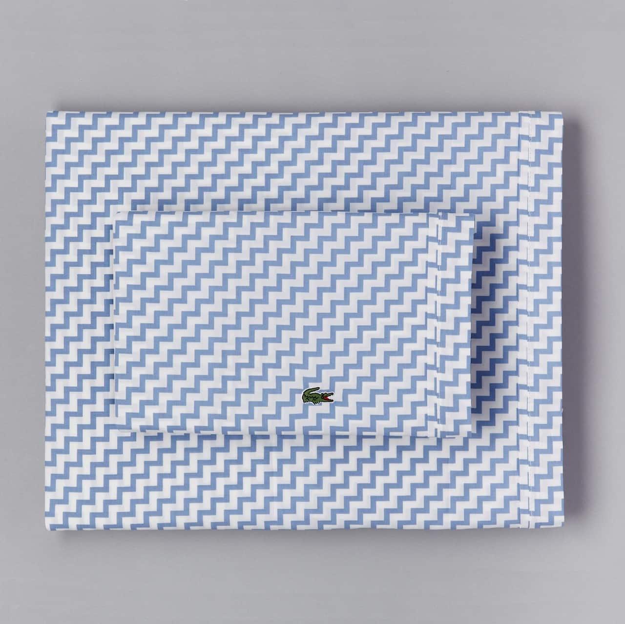 Percale Allure Blue King Pillowcase