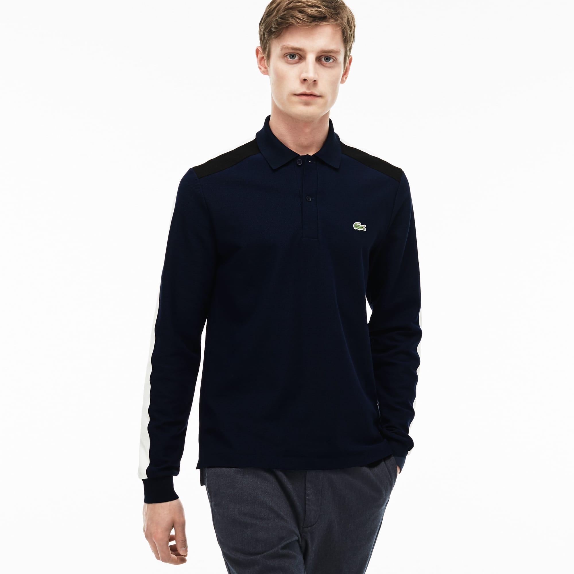 Men's  Made In France Regular Fit Piqué Polo