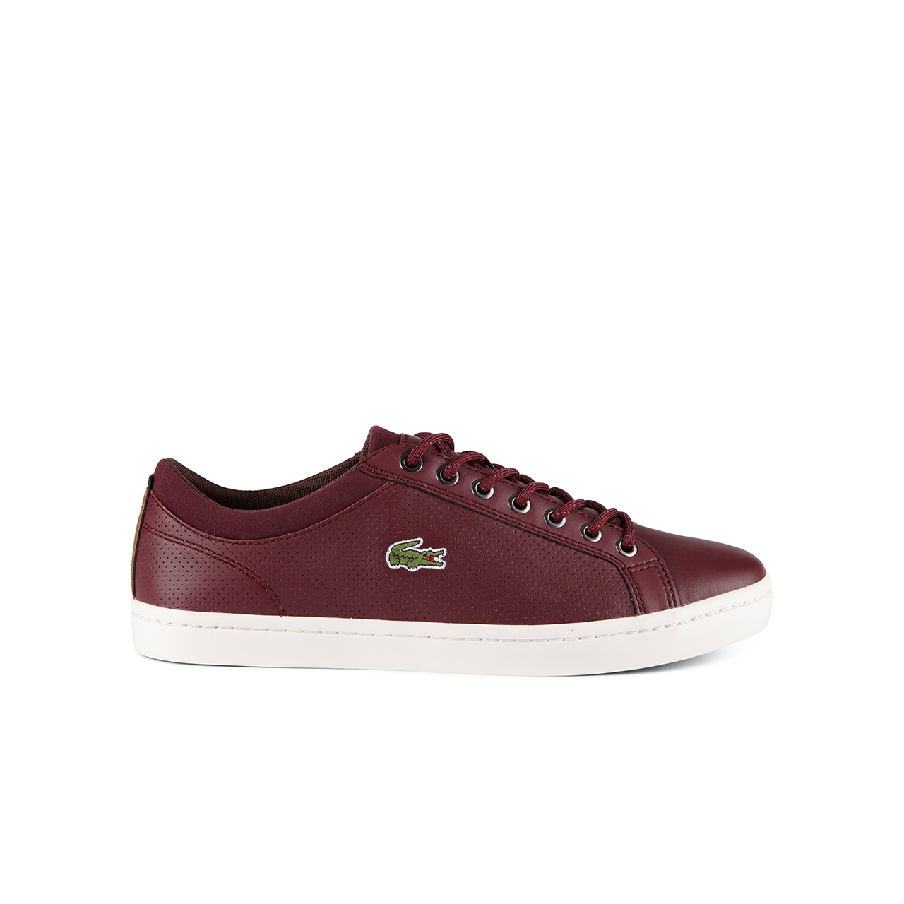 Lacoste MEN'S STRAIGHTSET LEATHER SNEAKERS aK9ZUGfUMq