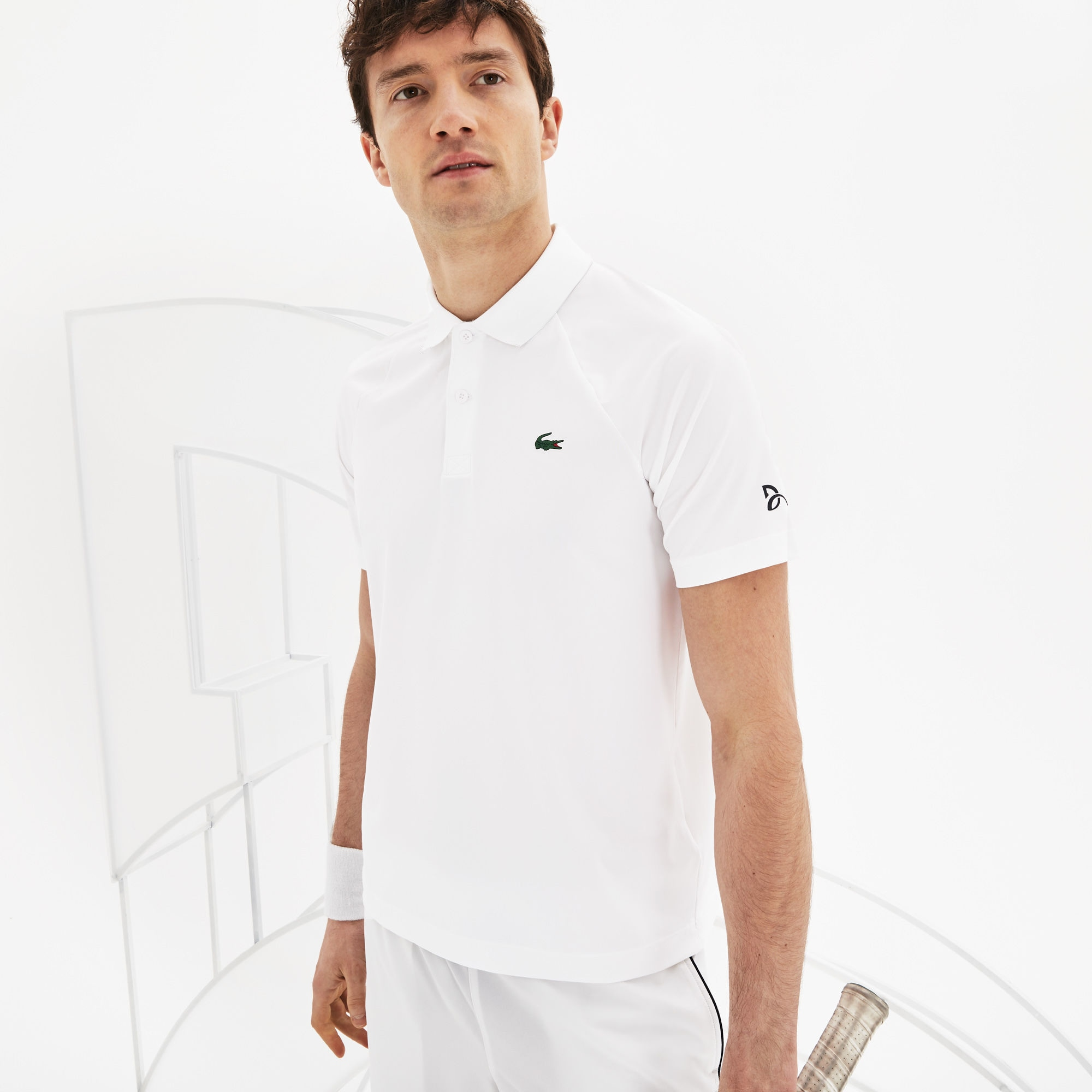 Polo Lacoste SPORT x Novak Djokovic -  Exclusive Green Edition