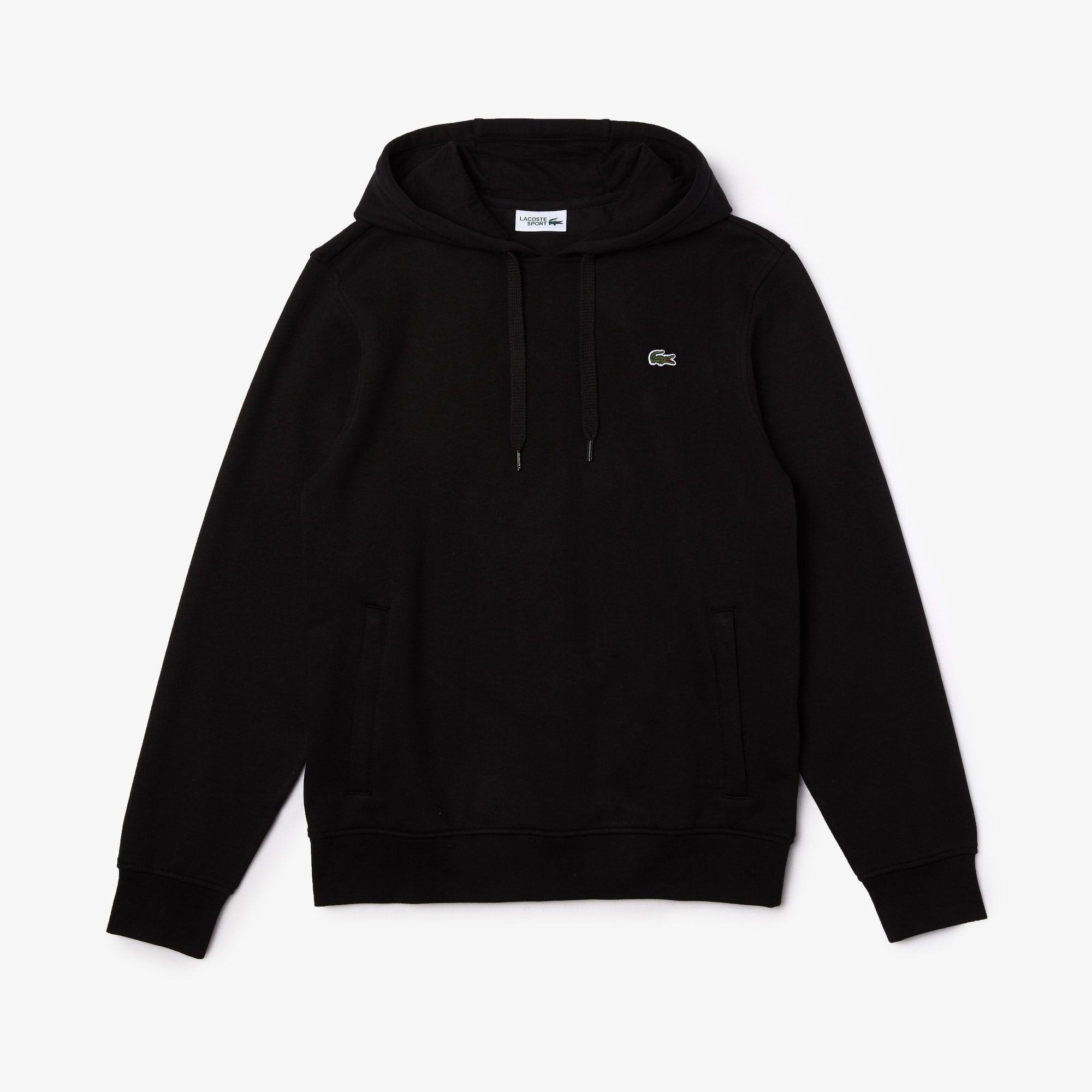Mens 라코스테 Lacoste SPORT Hooded Fleece Sweatshirt