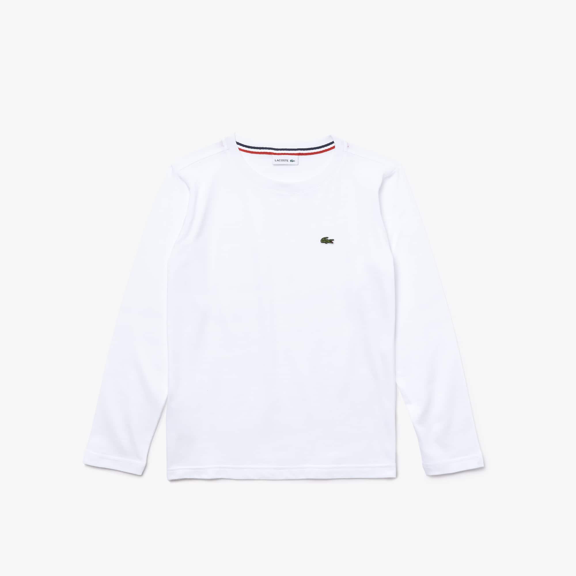 라코스테 Lacoste Boys Crew Neck Jersey T-shirt
