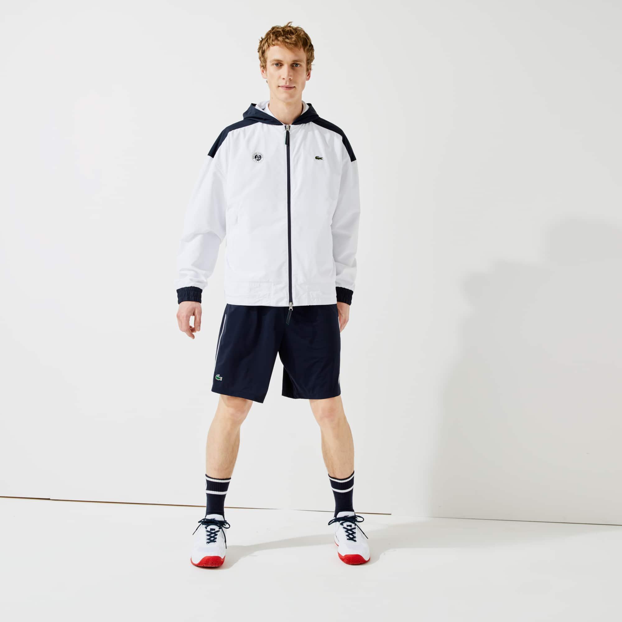 라코스테 스포츠 롤랑가로스 바람막이 자켓 Lacoste Mens SPORT Roland Garros Zip-Up Windbreaker