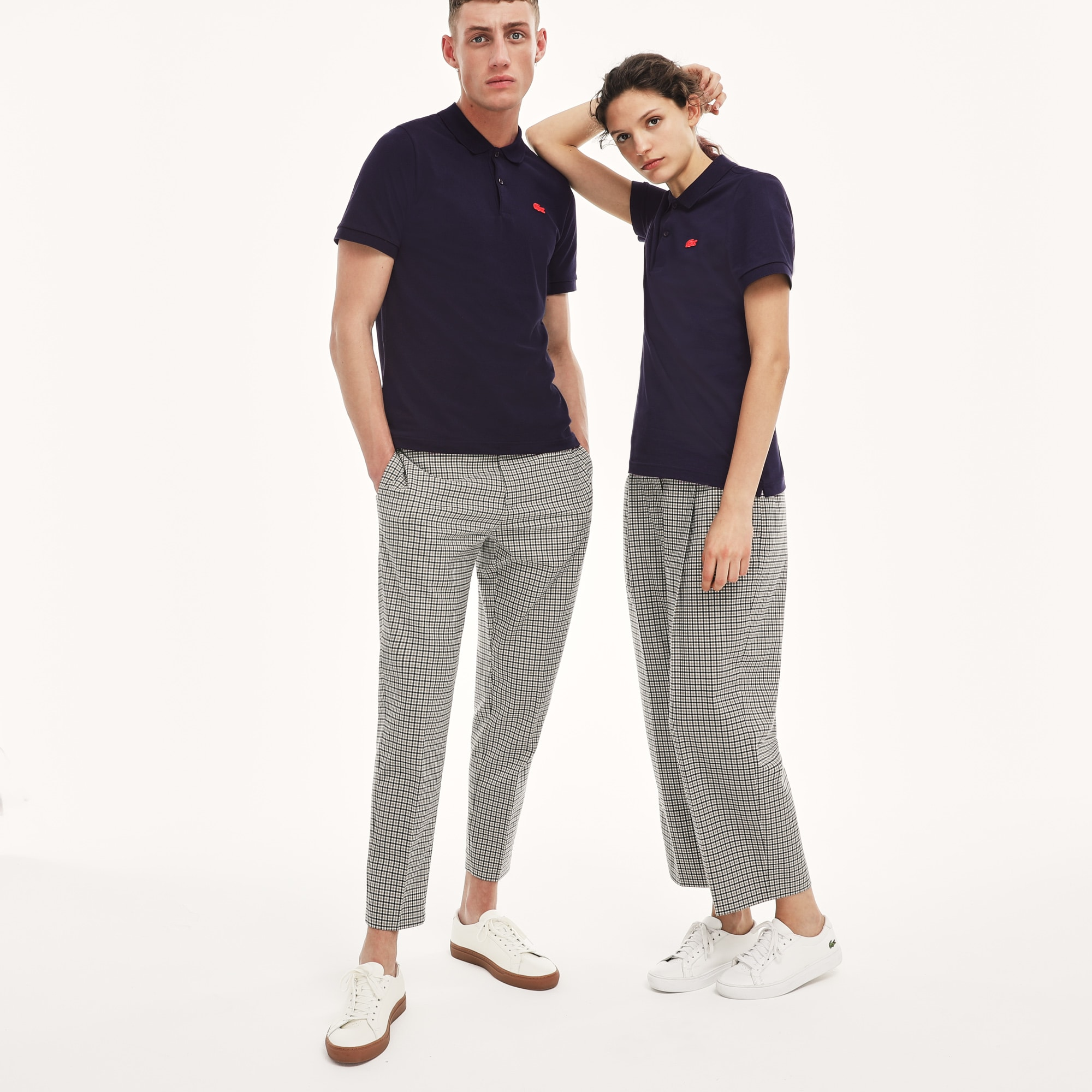 Unisex LIVE Slim Fit Stretch Mini Piqué Polo