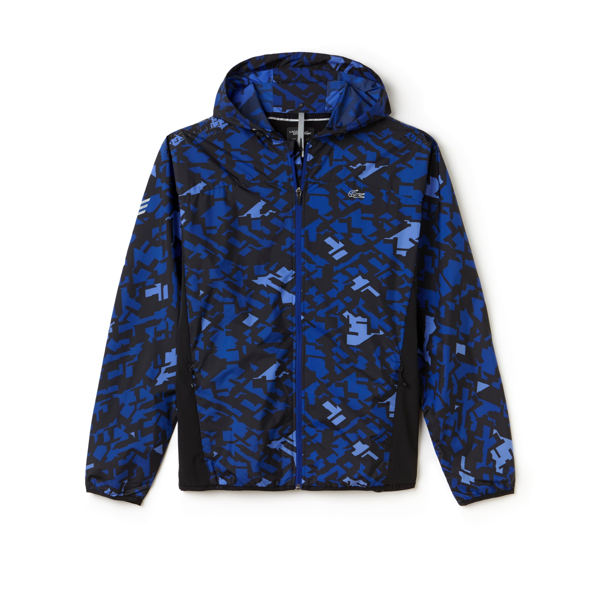 Men's SPORT Hooded Graphic Print Tennis Jacket