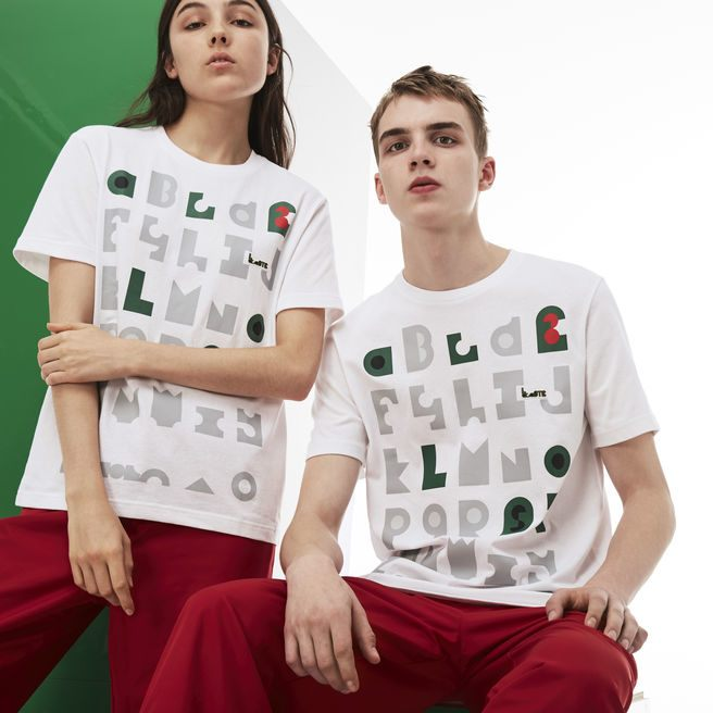 Unisex M/M Collab Crew Neck T-shirt With Graphic-Print Jersey
