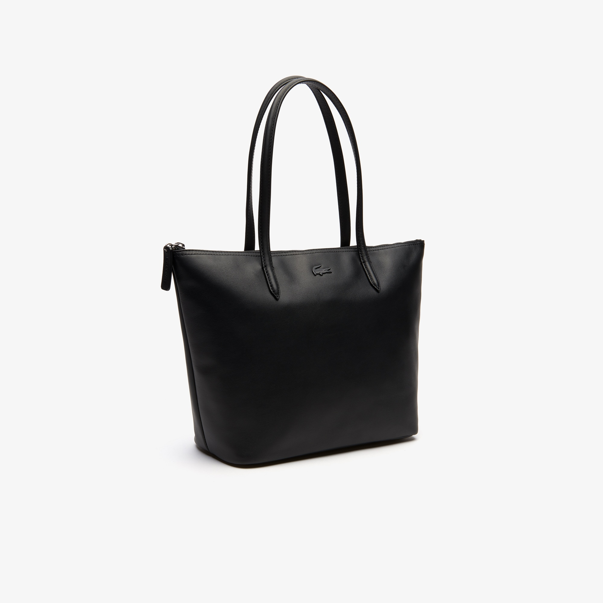 a2c059d3f8314 Women's L.12.12 Small Leather Tote Bag | LACOSTE