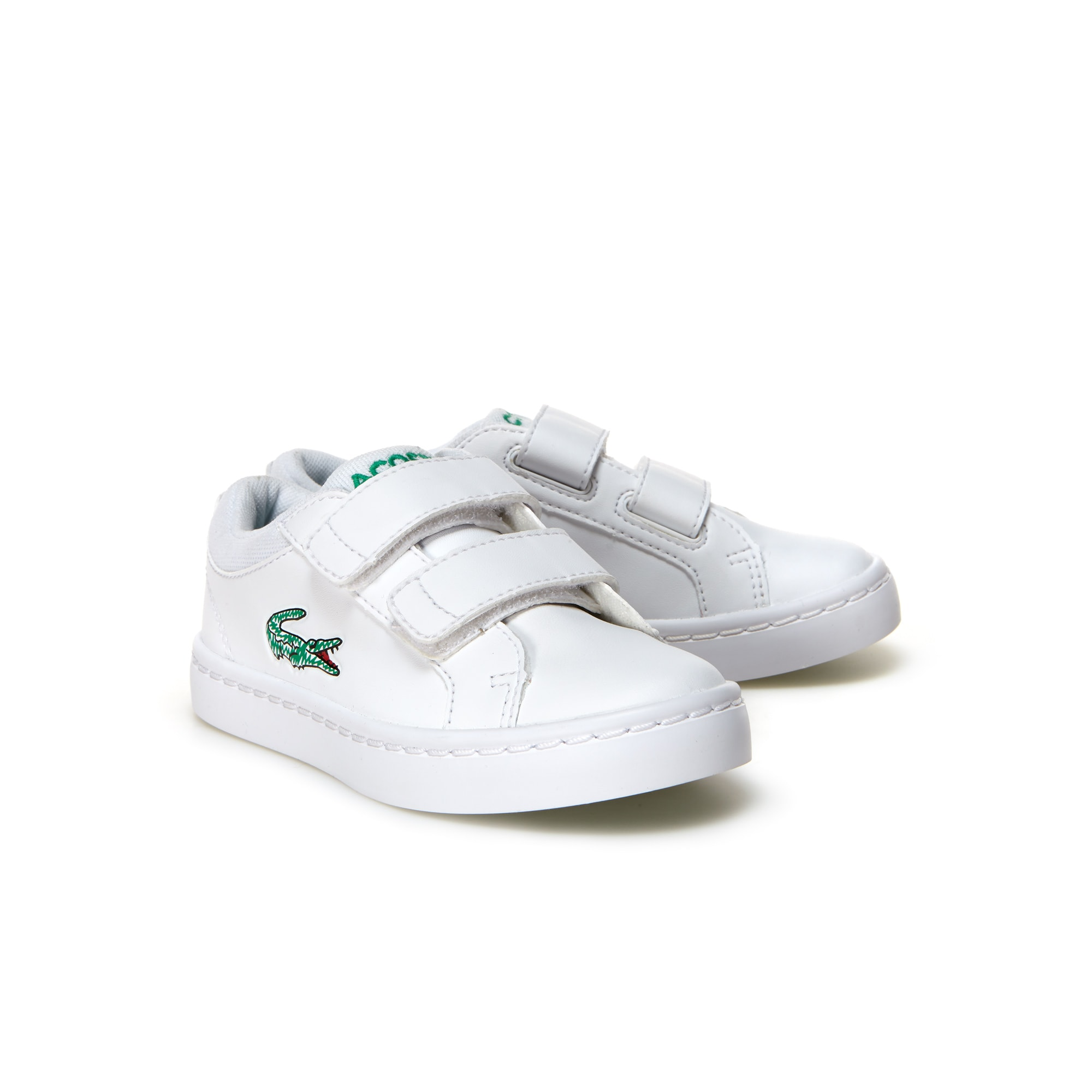 38c9c01392f228 ... Infant Straightset Lace Leather-look Trainers LACOSTE super cheap 58f2c  4932e  Kids Shoes Boys ...