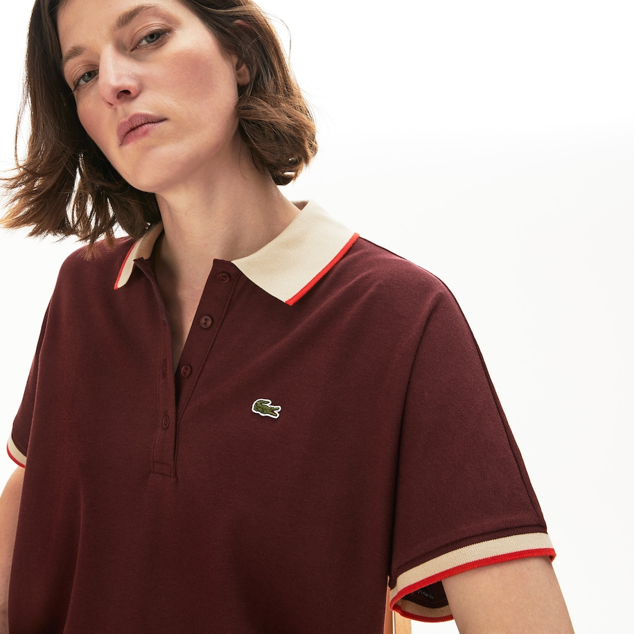 Women's Relaxed Fit Cotton Polo