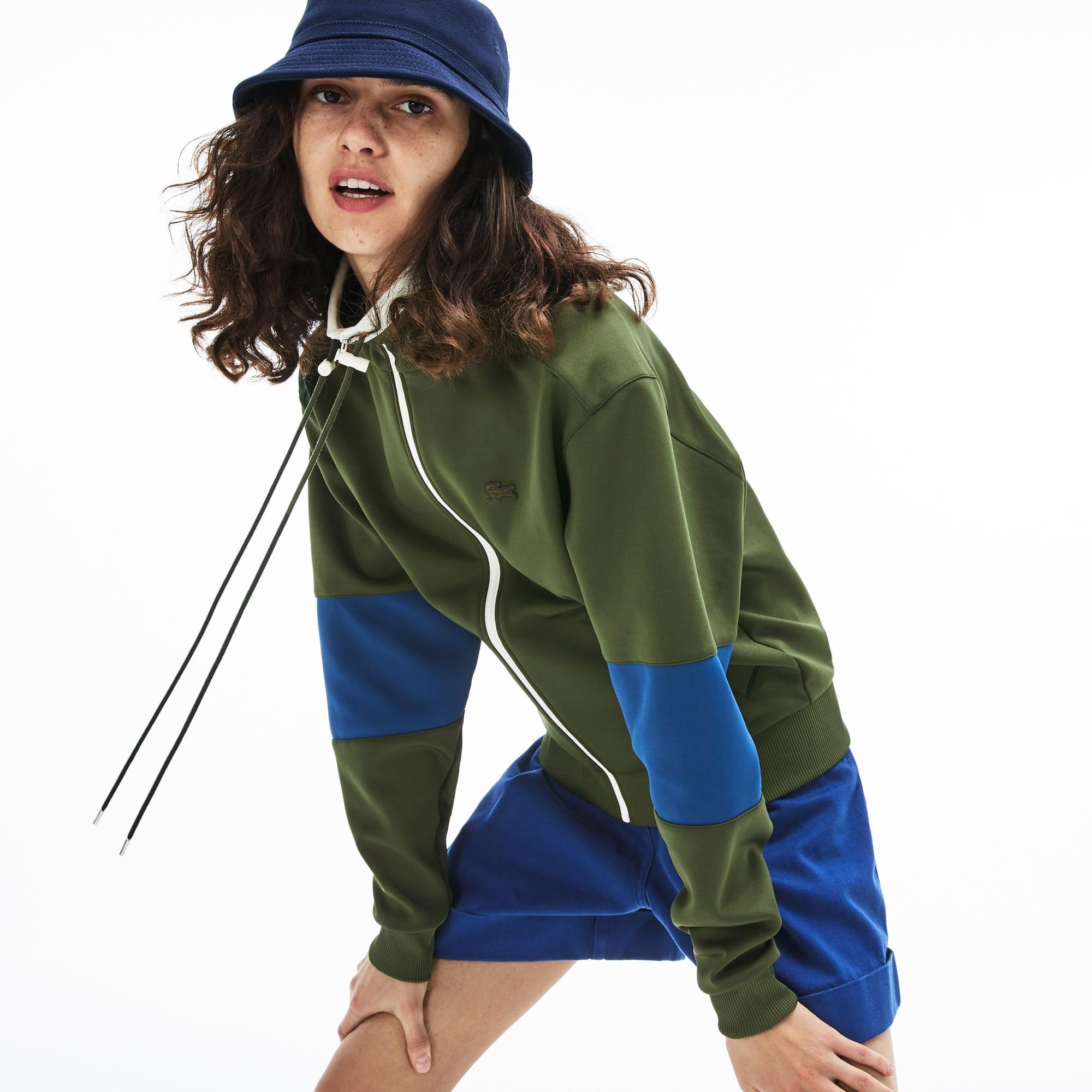Women's Light Neoprene Zip Sweatshirt