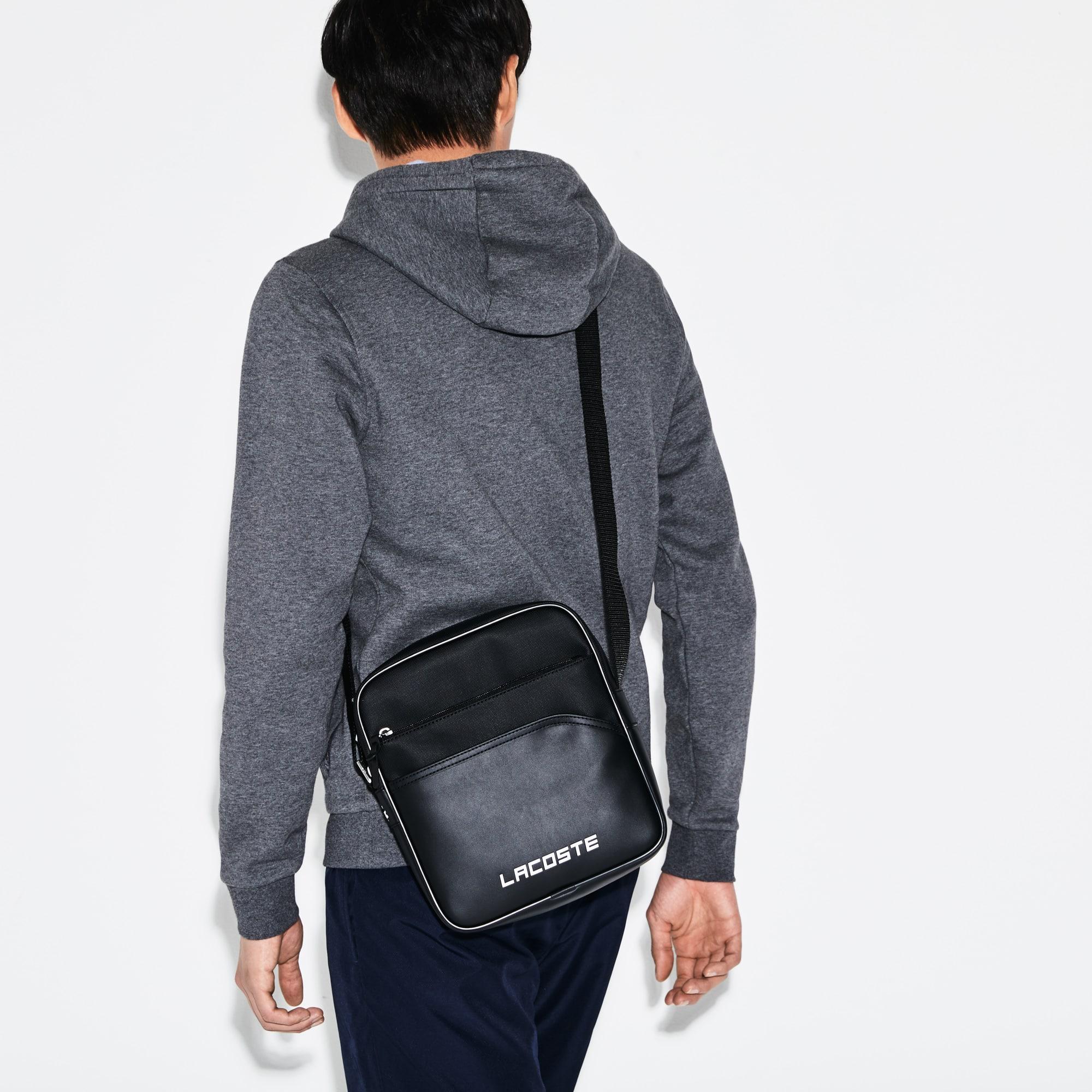 Men's SPORT Ultimum Lacoste Lettering Zip Bag