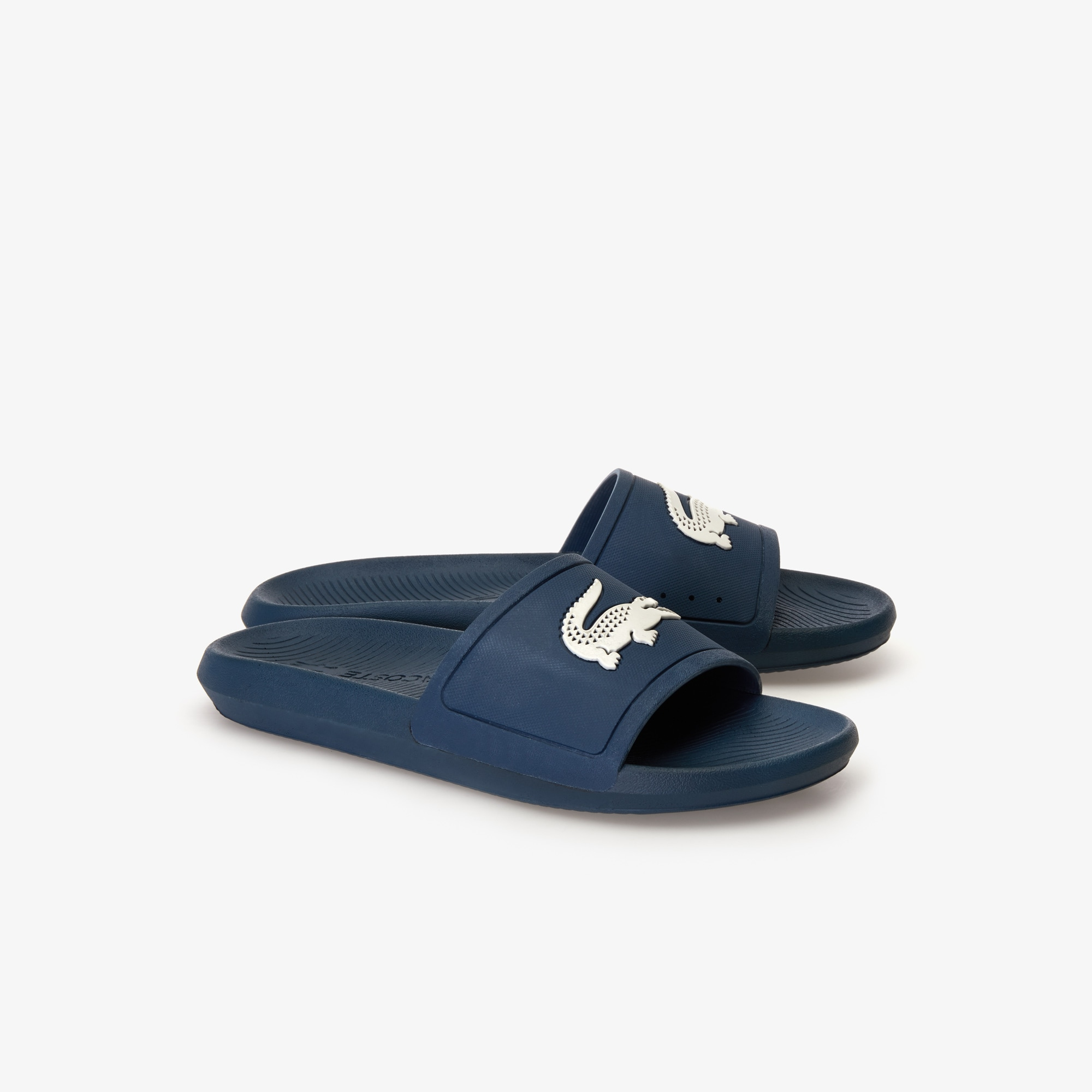 Men's Croco Rubber Slides