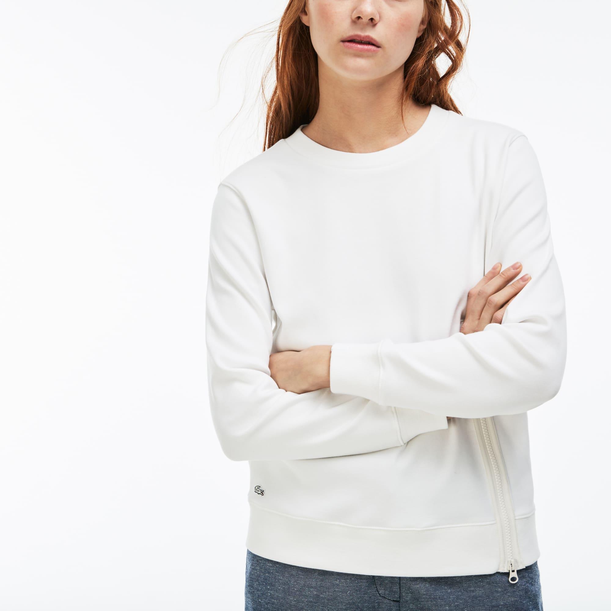 Women's LIVE Crew Neck Zip Sweatshirt