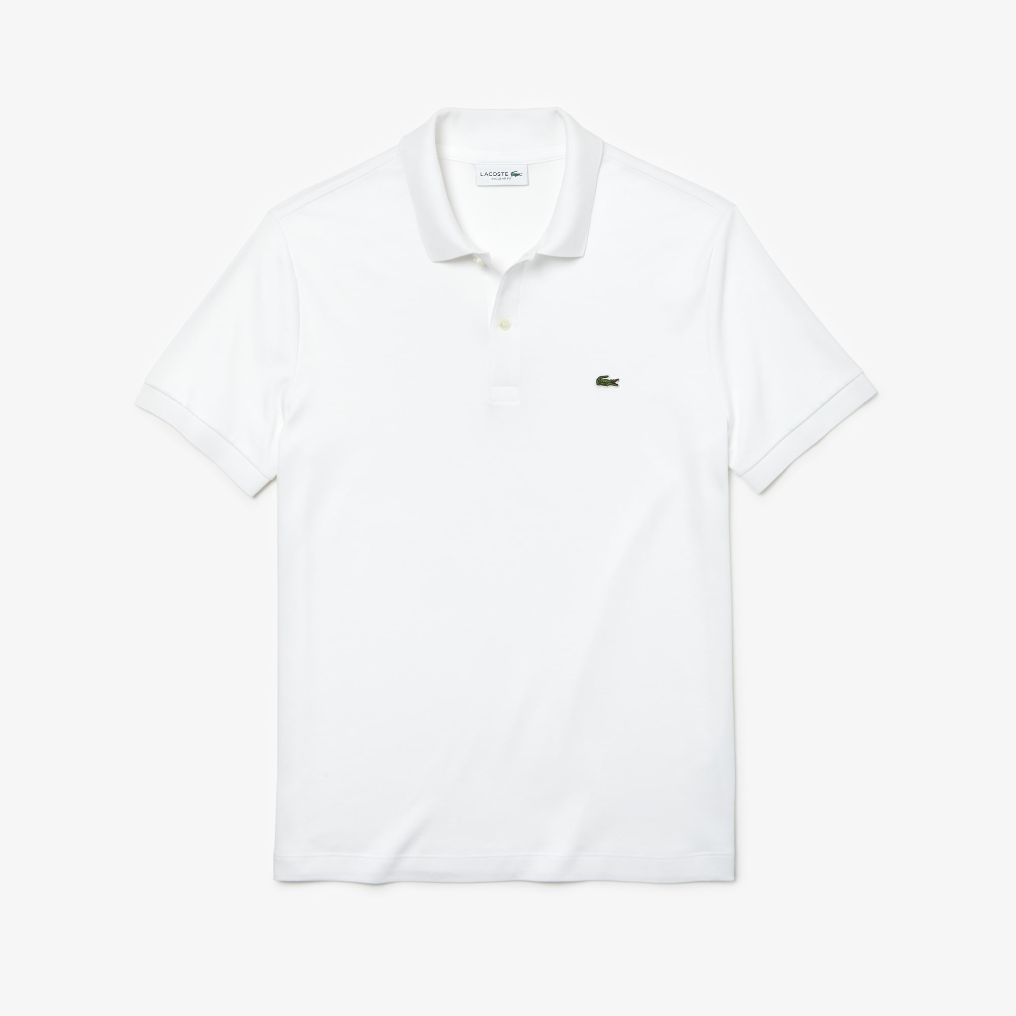 341d3916 Men's Regular Fit Pima Cotton Interlock Polo | LACOSTE