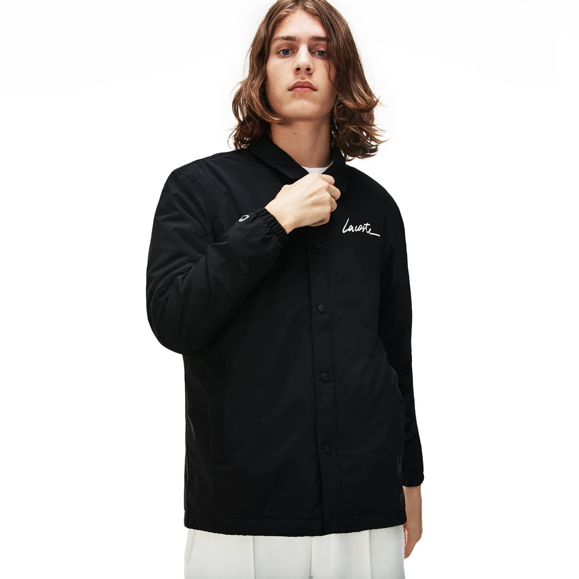 Lacoste Mens LIVE Signature Taffeta Jacket