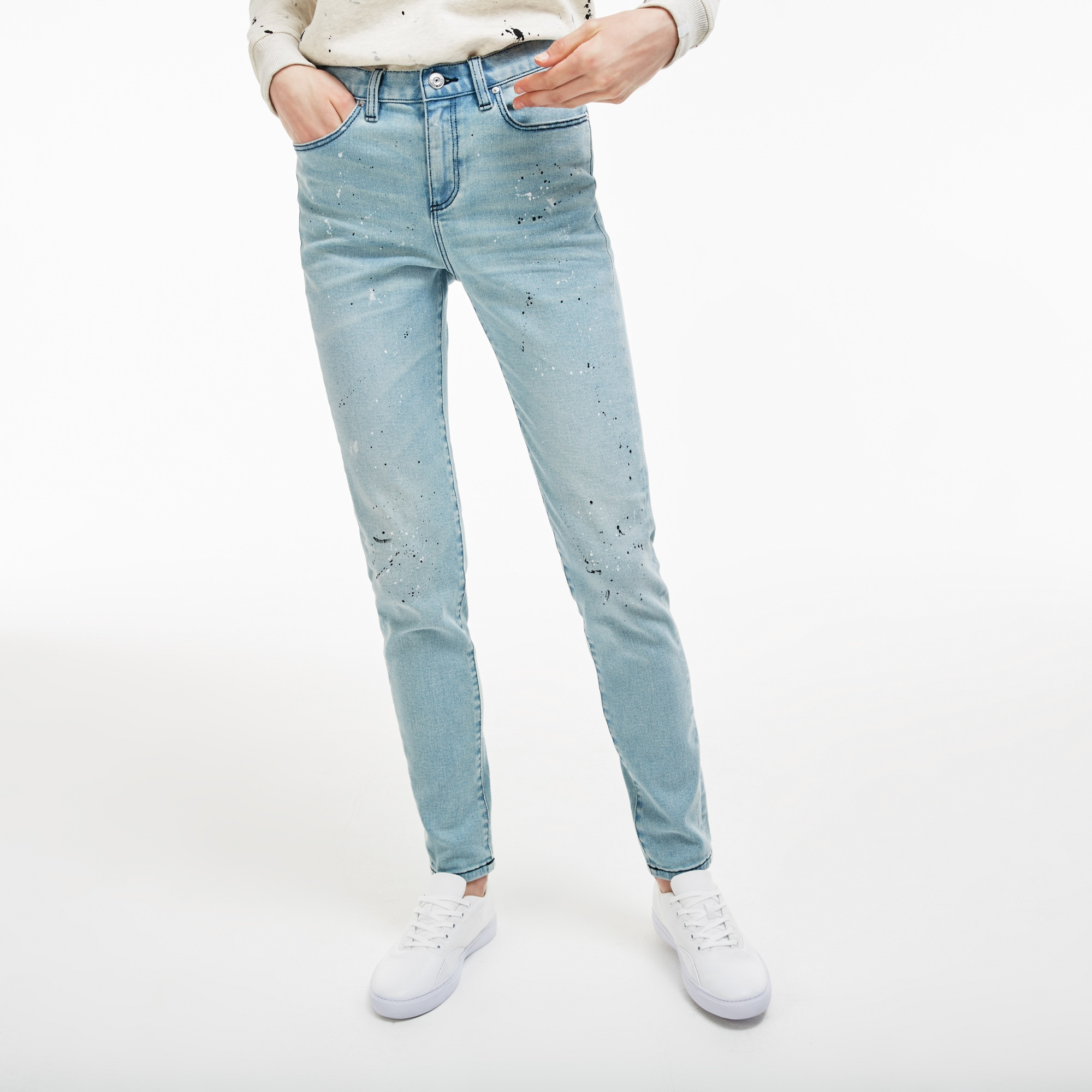 Women's  LIVE Five-Pocket Stretch Cotton Denim Jeans