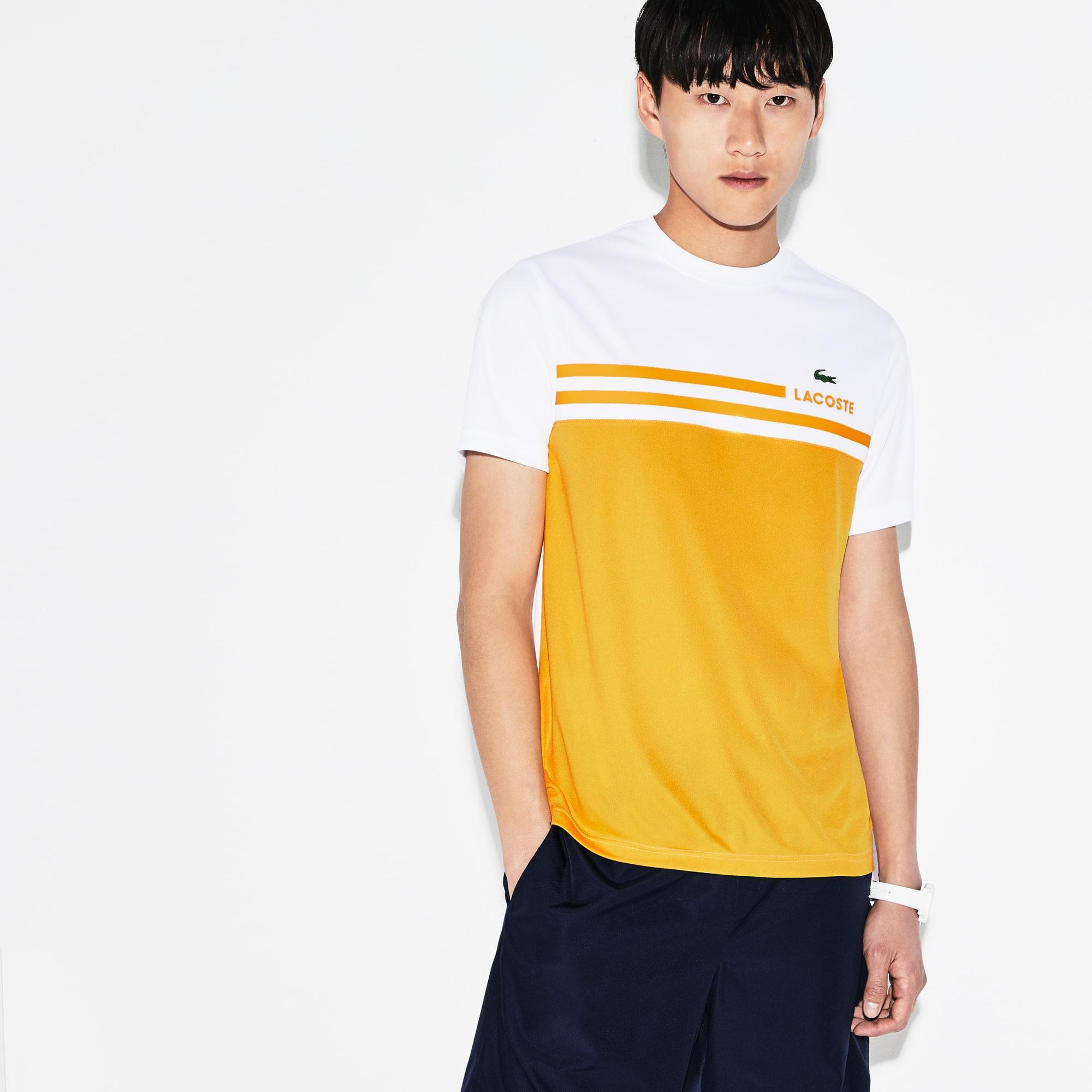 Men's SPORT Colorblock Technical Piqué Tennis T-shirt