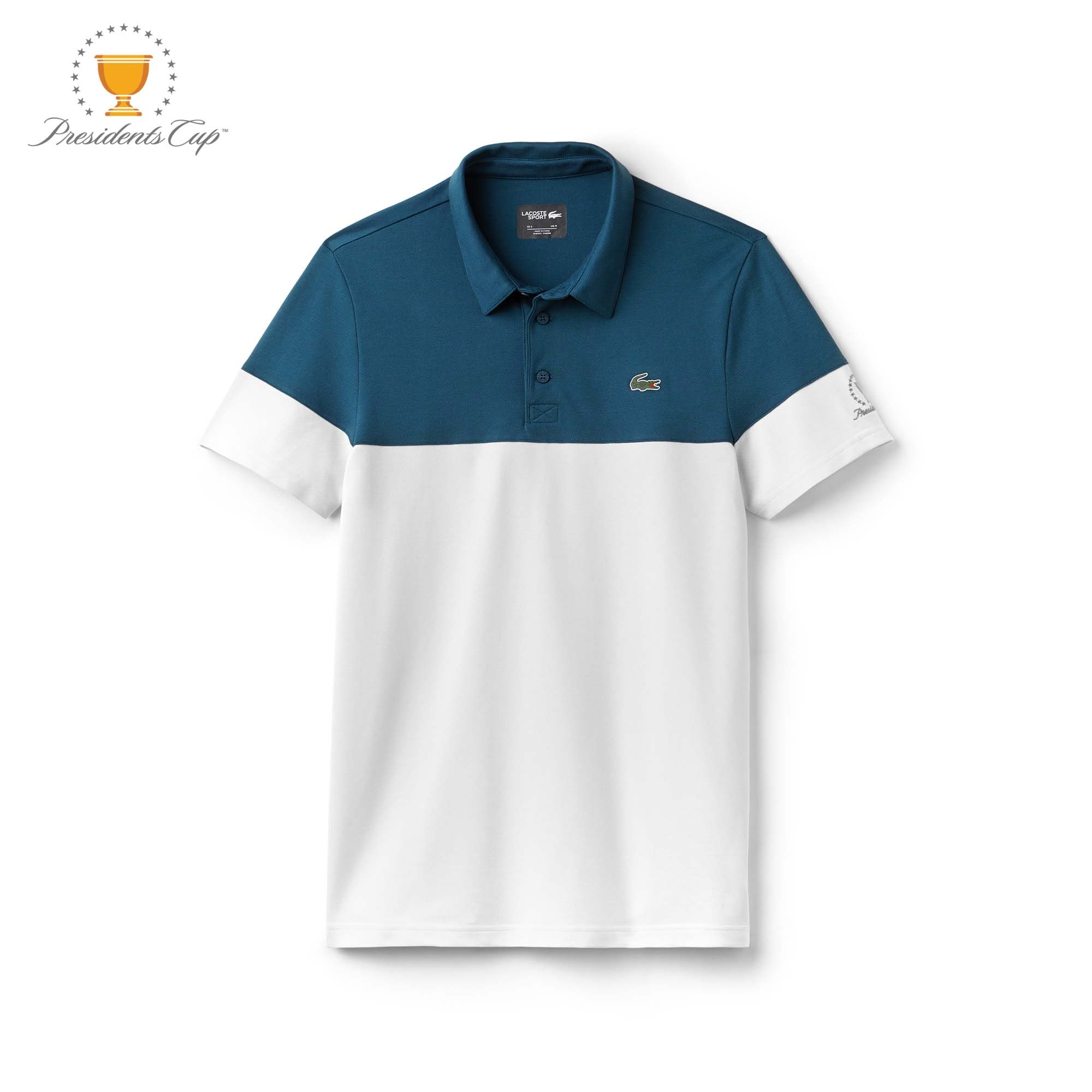 Men's  SPORT Presidents Cup Edition Tech Petit Piqué Polo