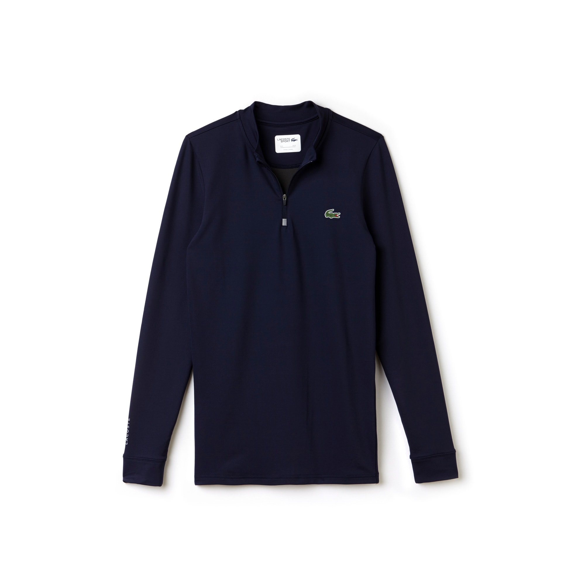 라코스테 Lacoste Mens SPORT Golf Tech Jersey T-shirt,navy blue