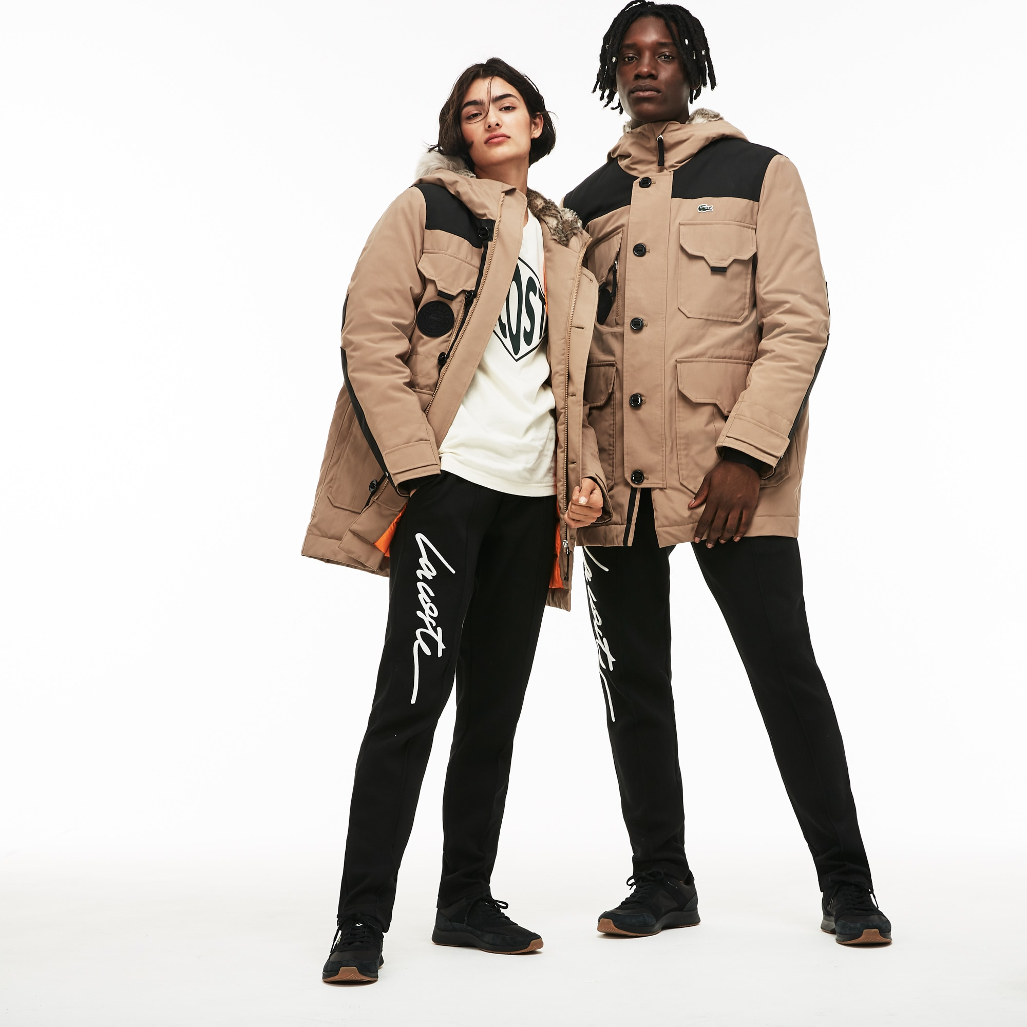 Unisex LIVE Water-Resistant Canvas Quilted Parka