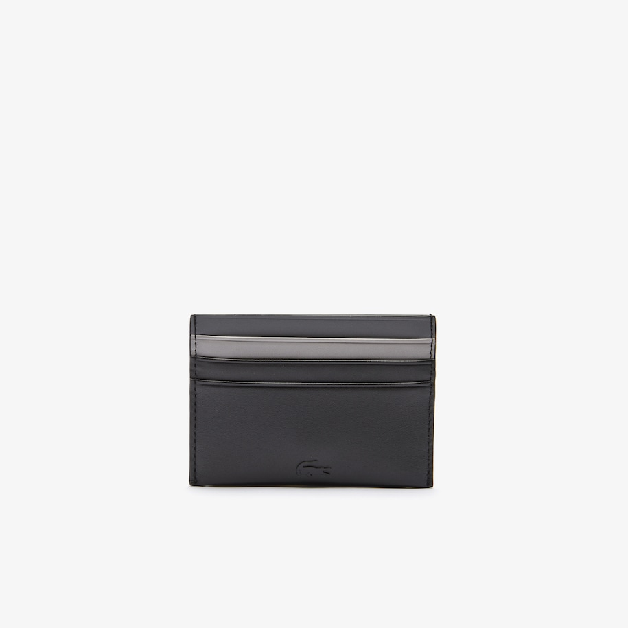 Men's Fitzgerald Colorblock Smooth Leather Credit Card Holder