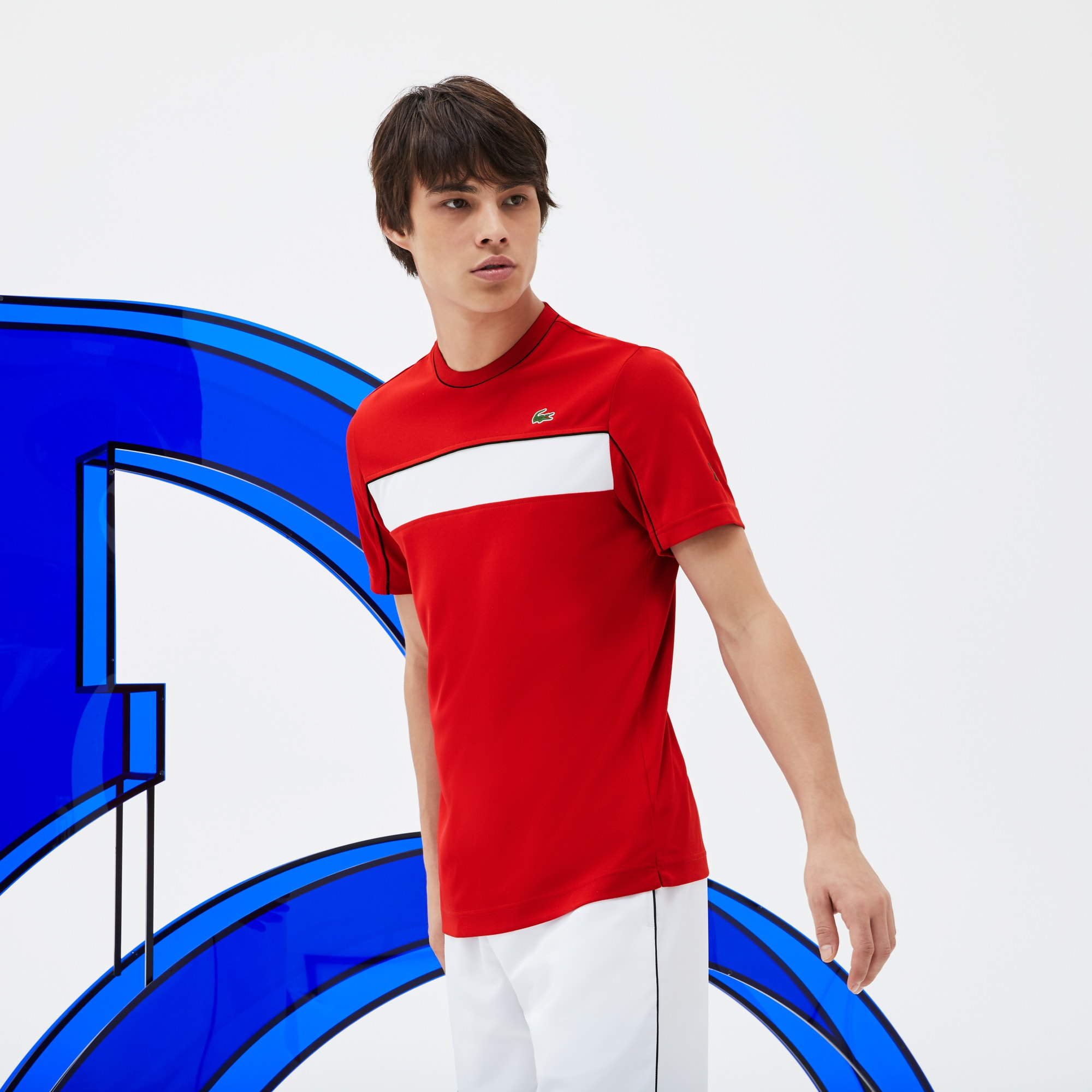 Men's SPORT Colorblock Tech Piqué T-shirt - x Novak Djokovic