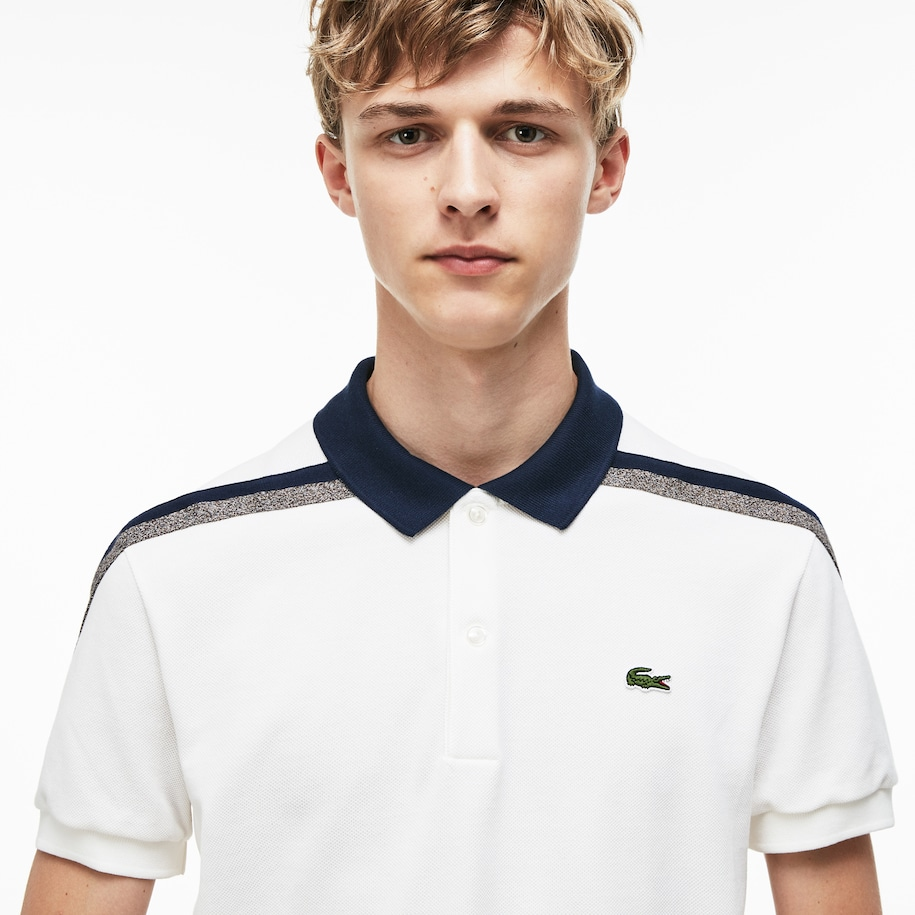 Men's Motion Regular Fit Cotton Piqué Polo