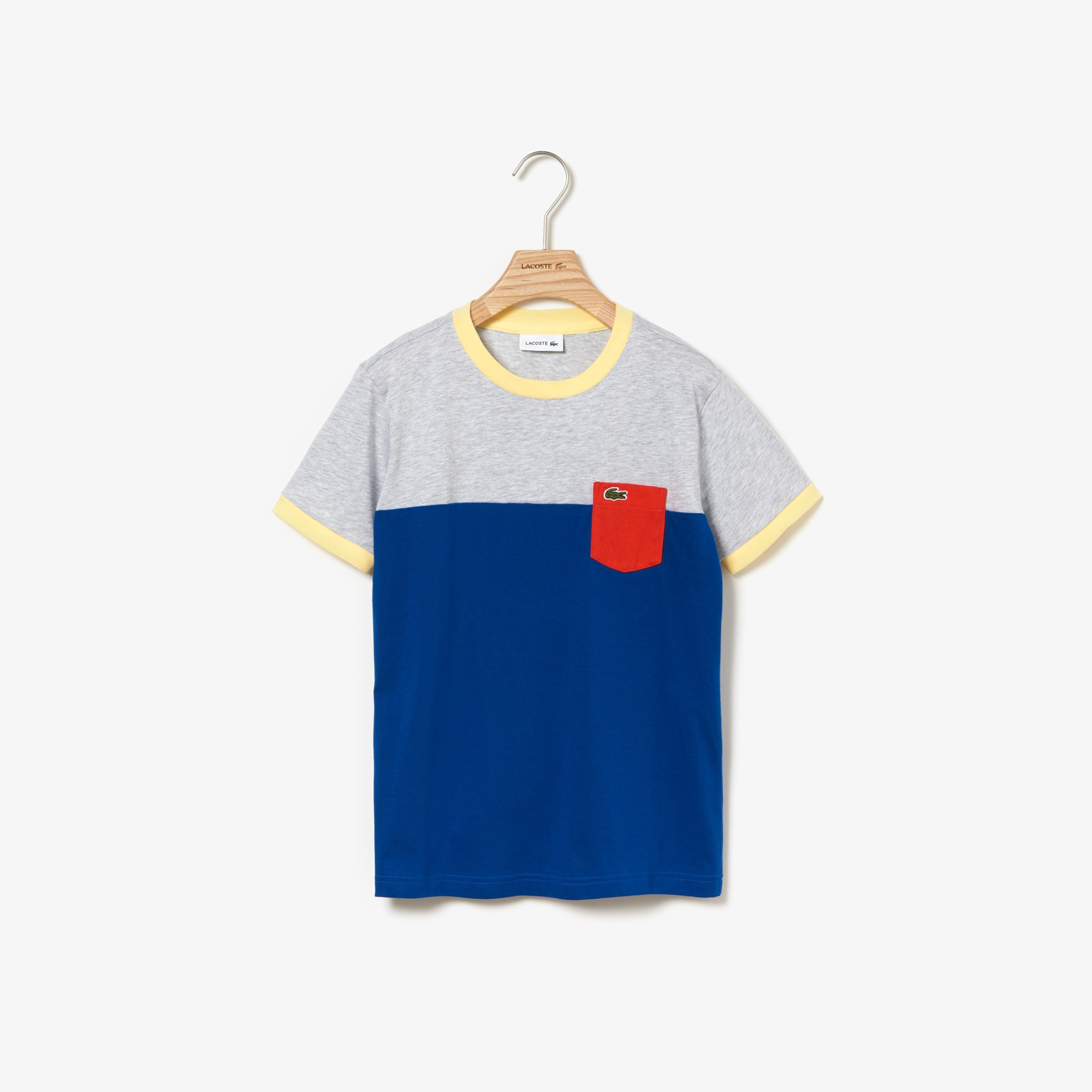 Boys' Crew Neck Cotton T-shirt