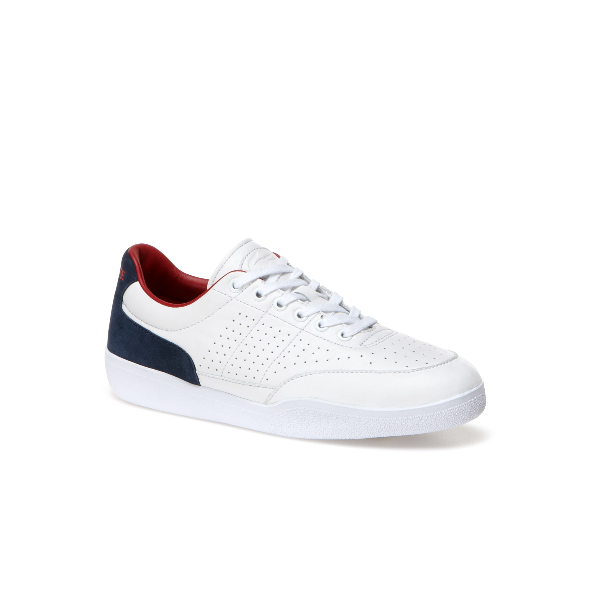 Men's Dash Punched Leather Sneakers