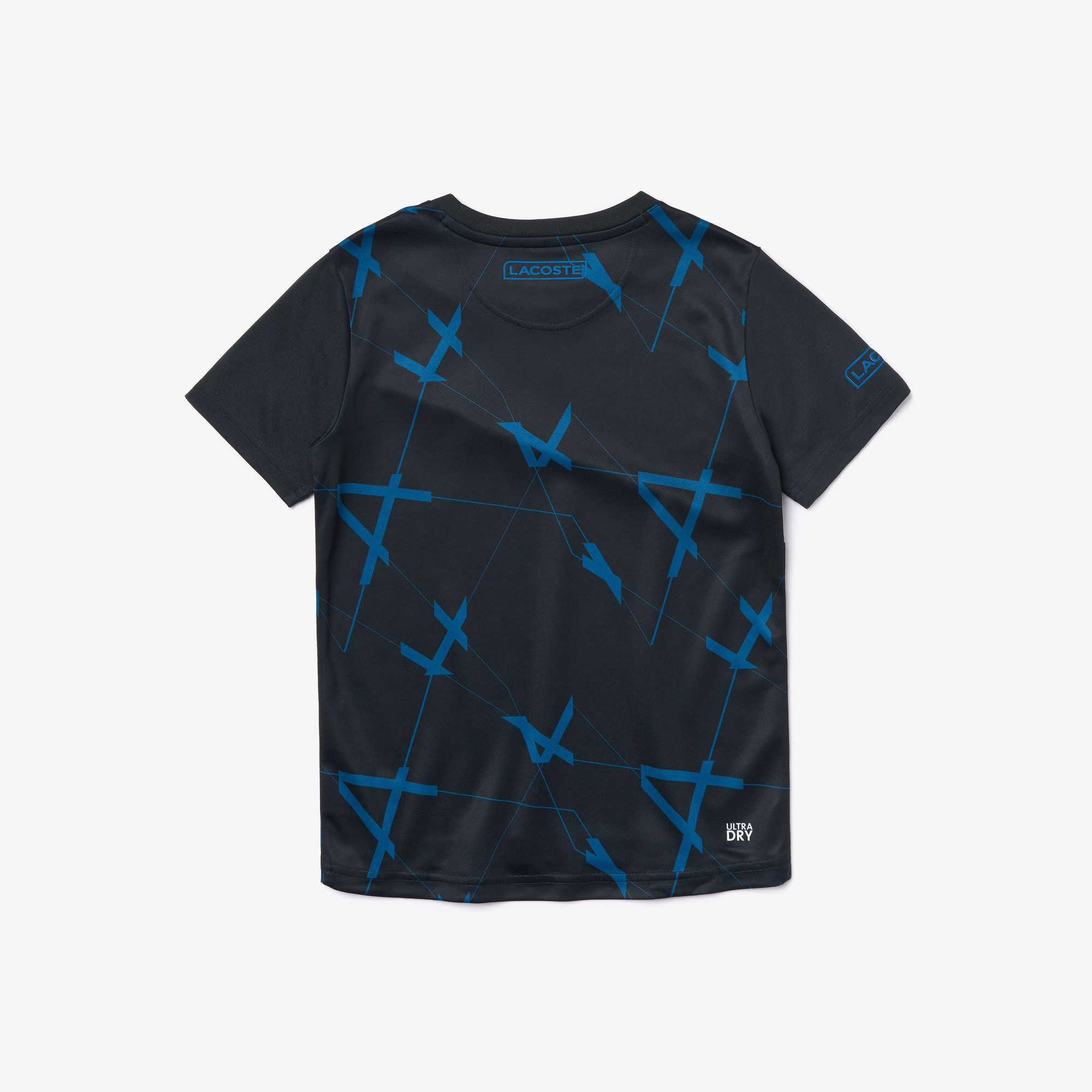 Boys' SPORT Geometric Design Piqué T-shirt