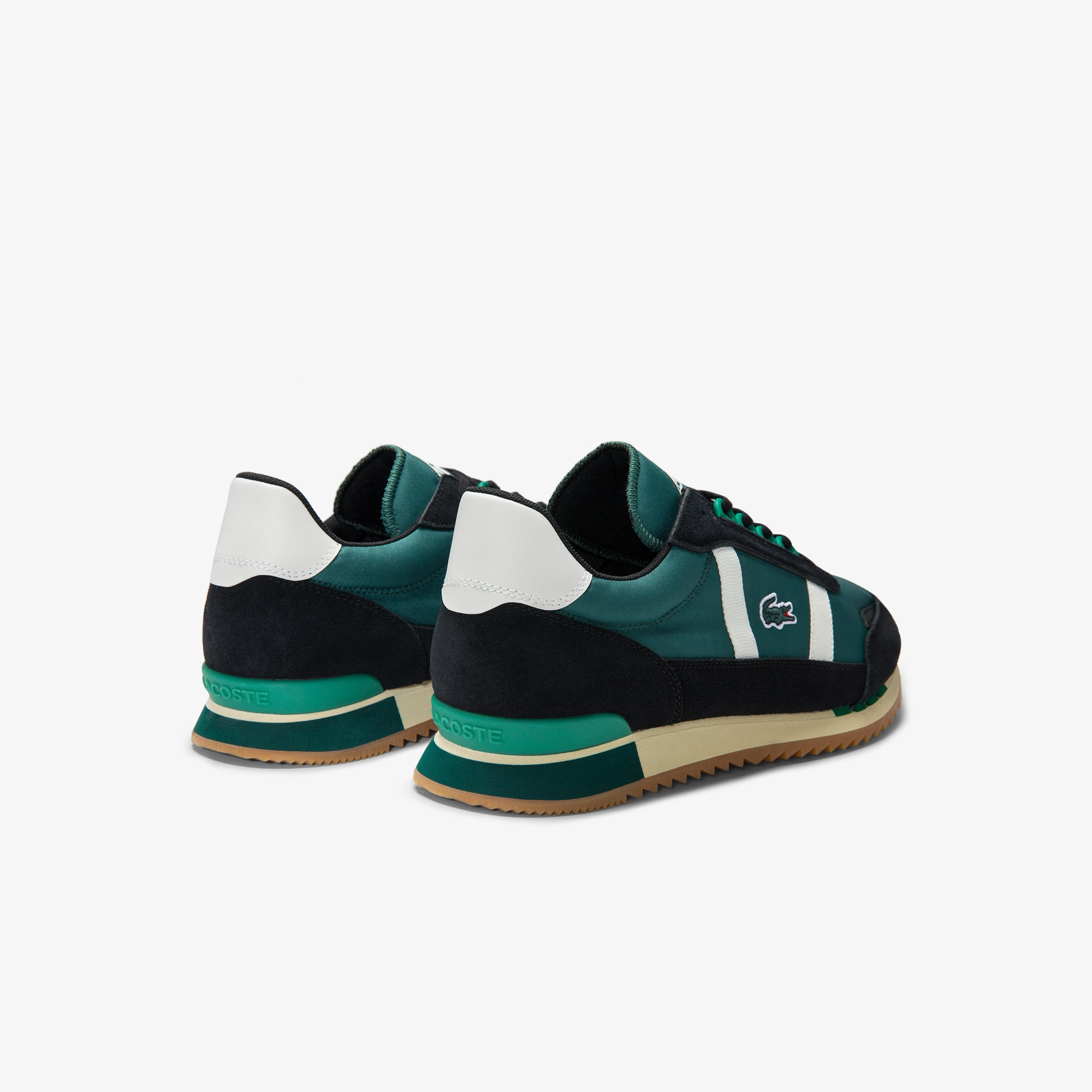 Men's Partner Retro Suede-Paneled Sneakers