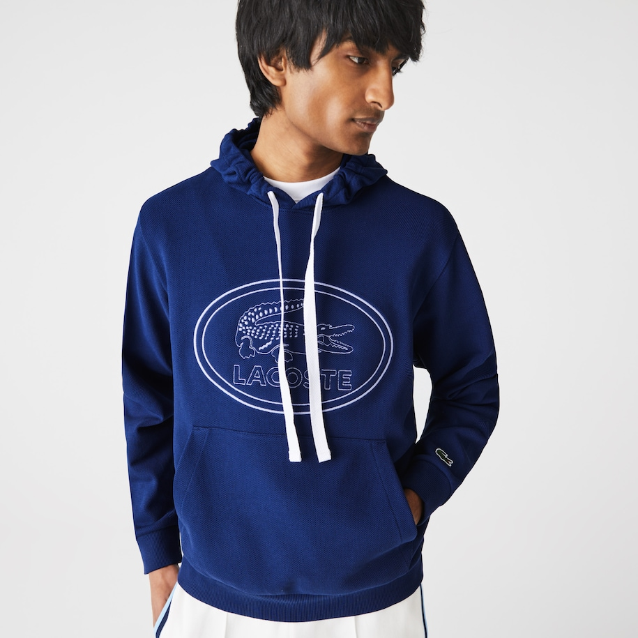 Men's Hooded Embroidered Logo Sweatshirt
