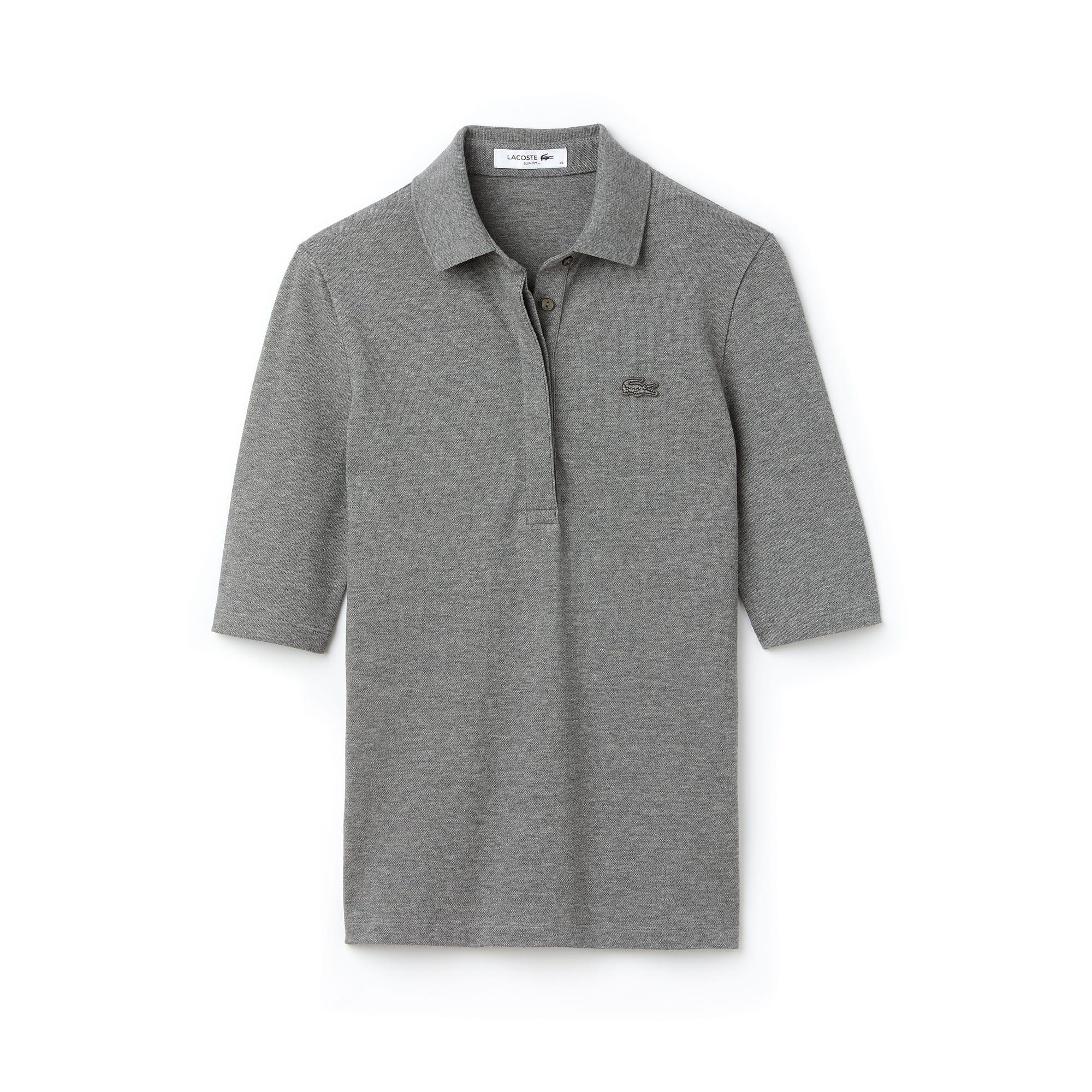 ... Women s Slim Fit Stretch Mini Piqué Polo Shirt 57d45d9e85