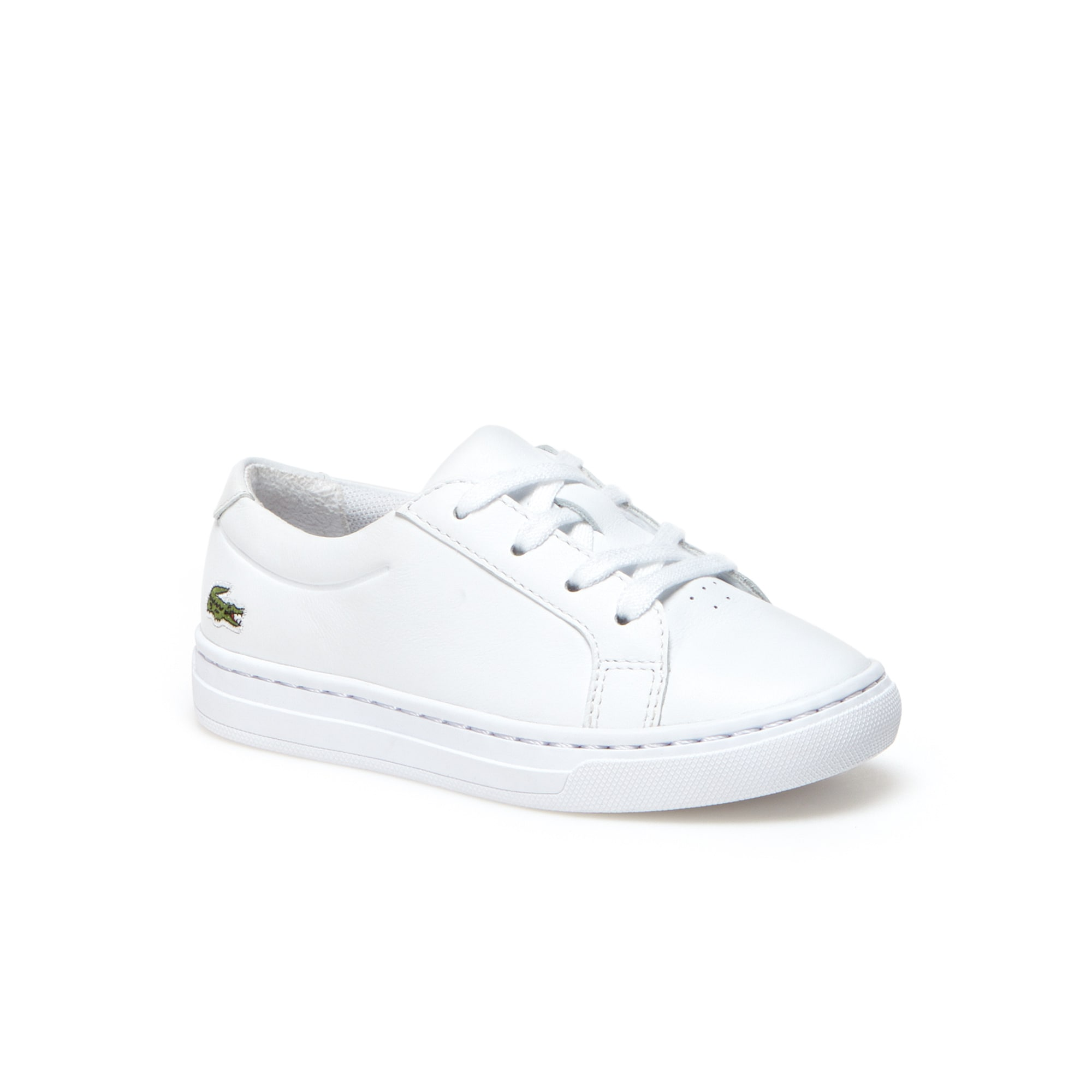 Kids' L.12.12 Leather Sneakers