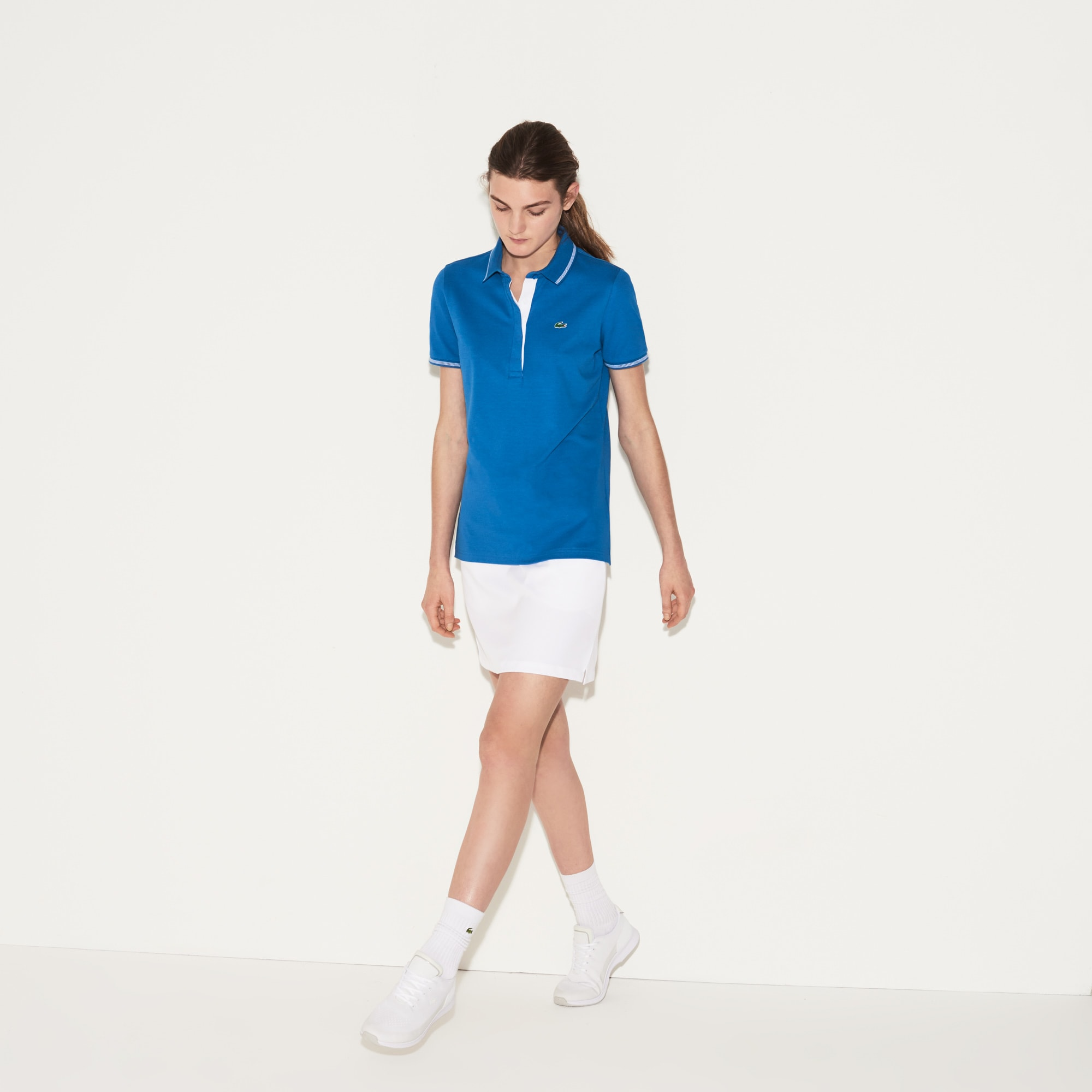Women's SPORT Light Stretch Technical Cotton Golf Polo