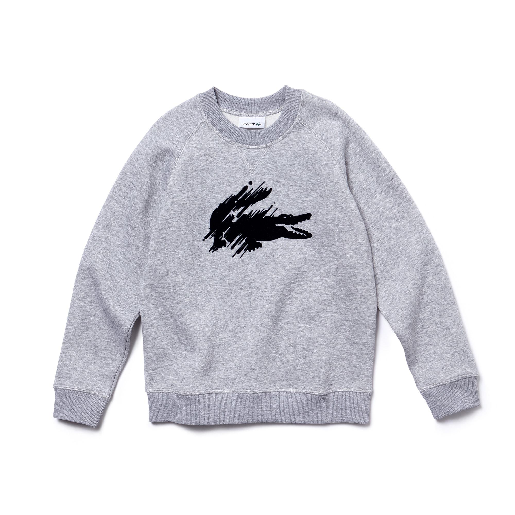 Boys' Crocodile Fleece Sweatshirt
