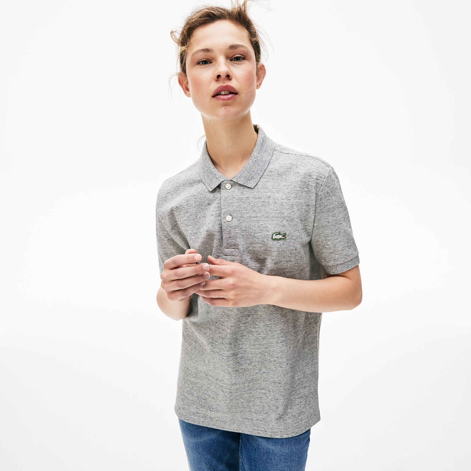 Unisex LIVE Slim Fit Petit Piqué Polo Shirt