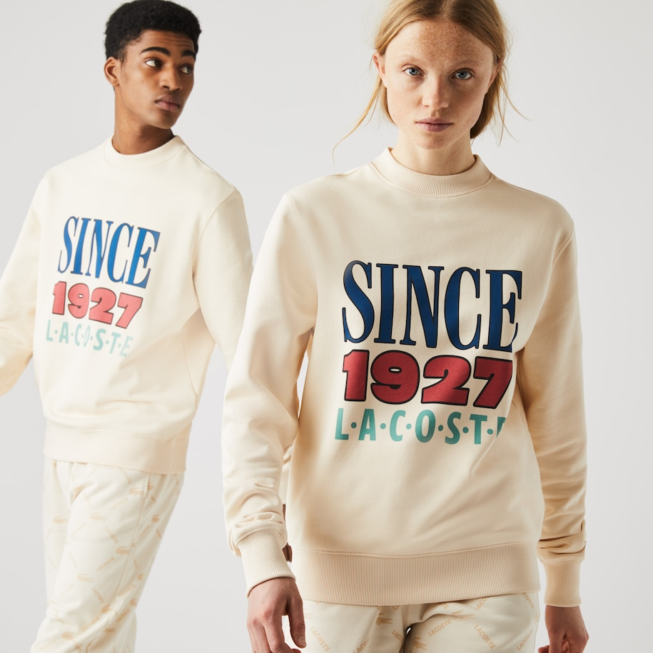 Unisex LIVE Printed Cotton Fleece Sweatshirt