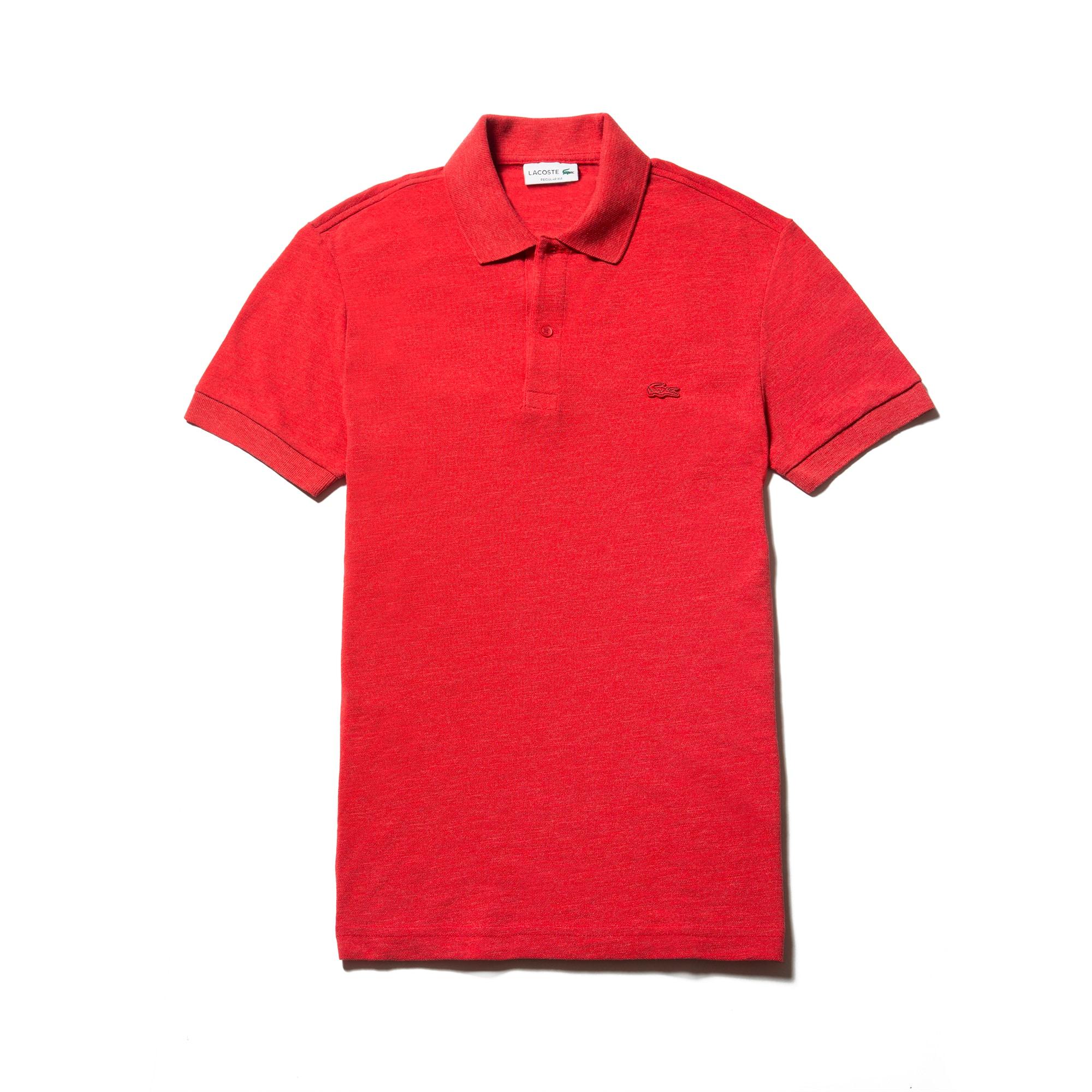 Men's  Regular Fit Cotton Piqué Polo