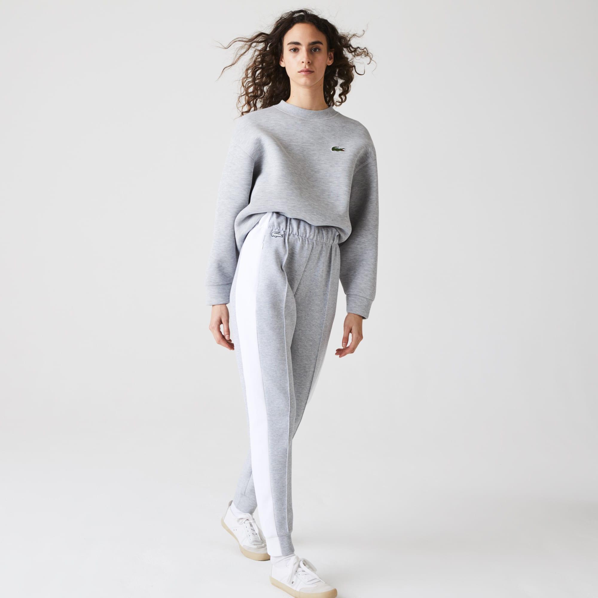 Lacoste Womens SPORT Contrast Band Pique Jogging Pants