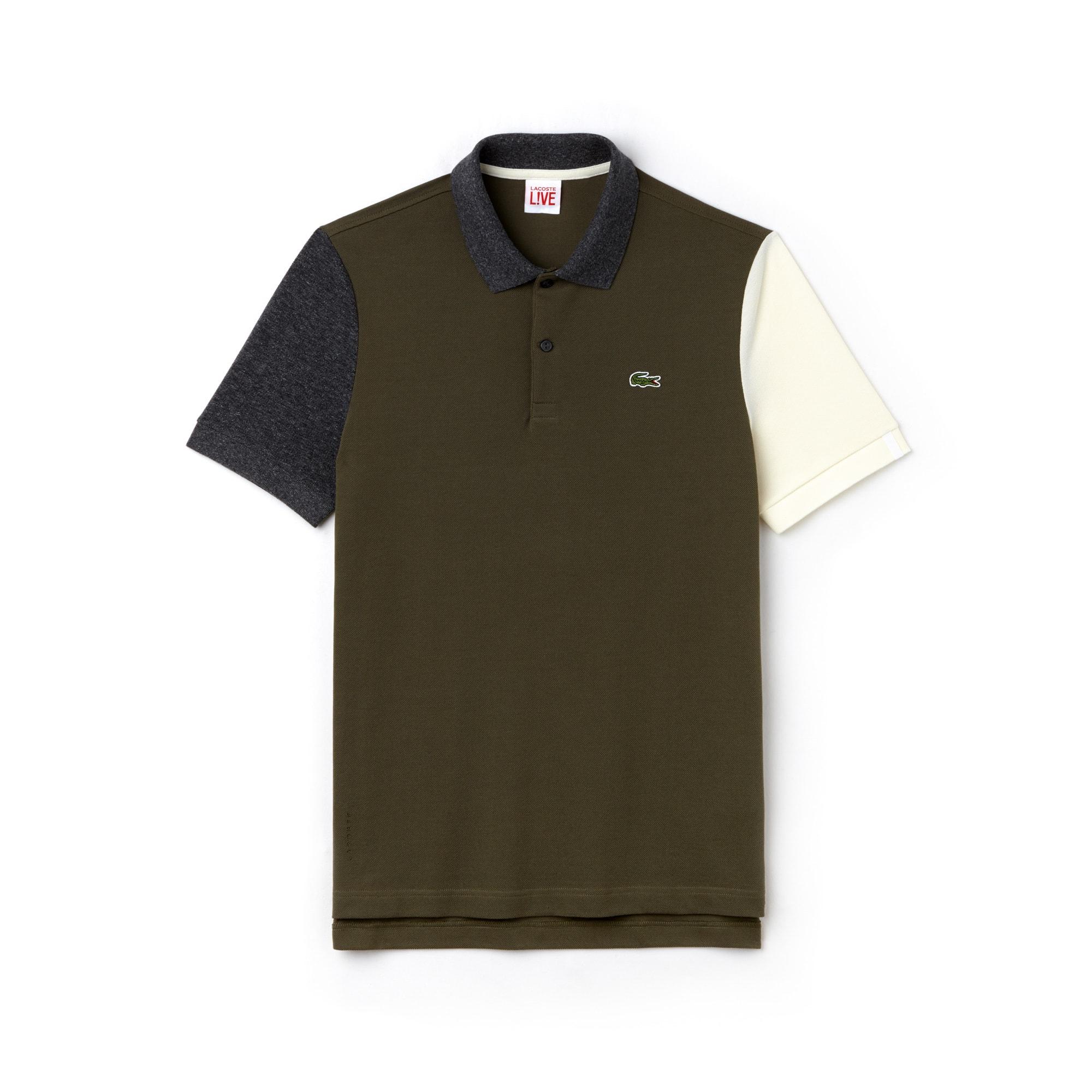 Men's LIVE Slim Fit Cotton Petit Piqué Polo