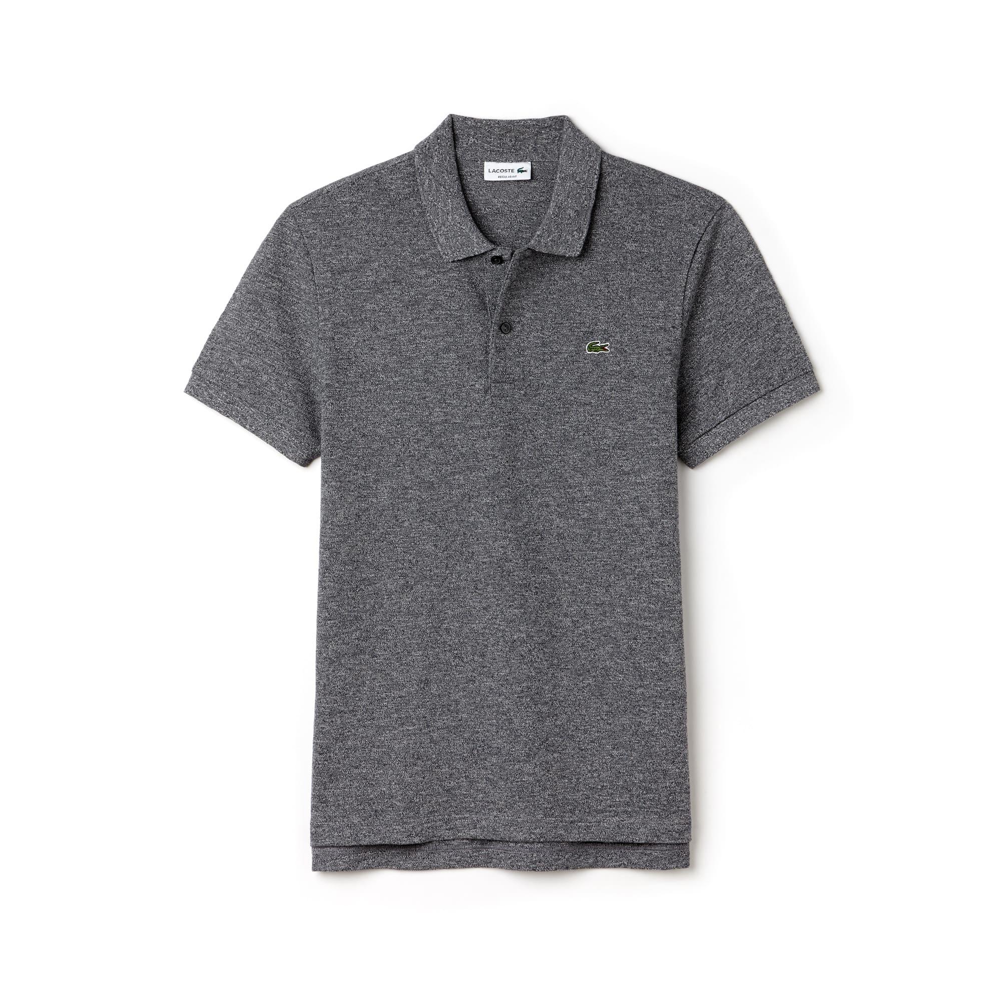 Men's Lacoste Regular Fit Flamme Cotton Piqué Polo